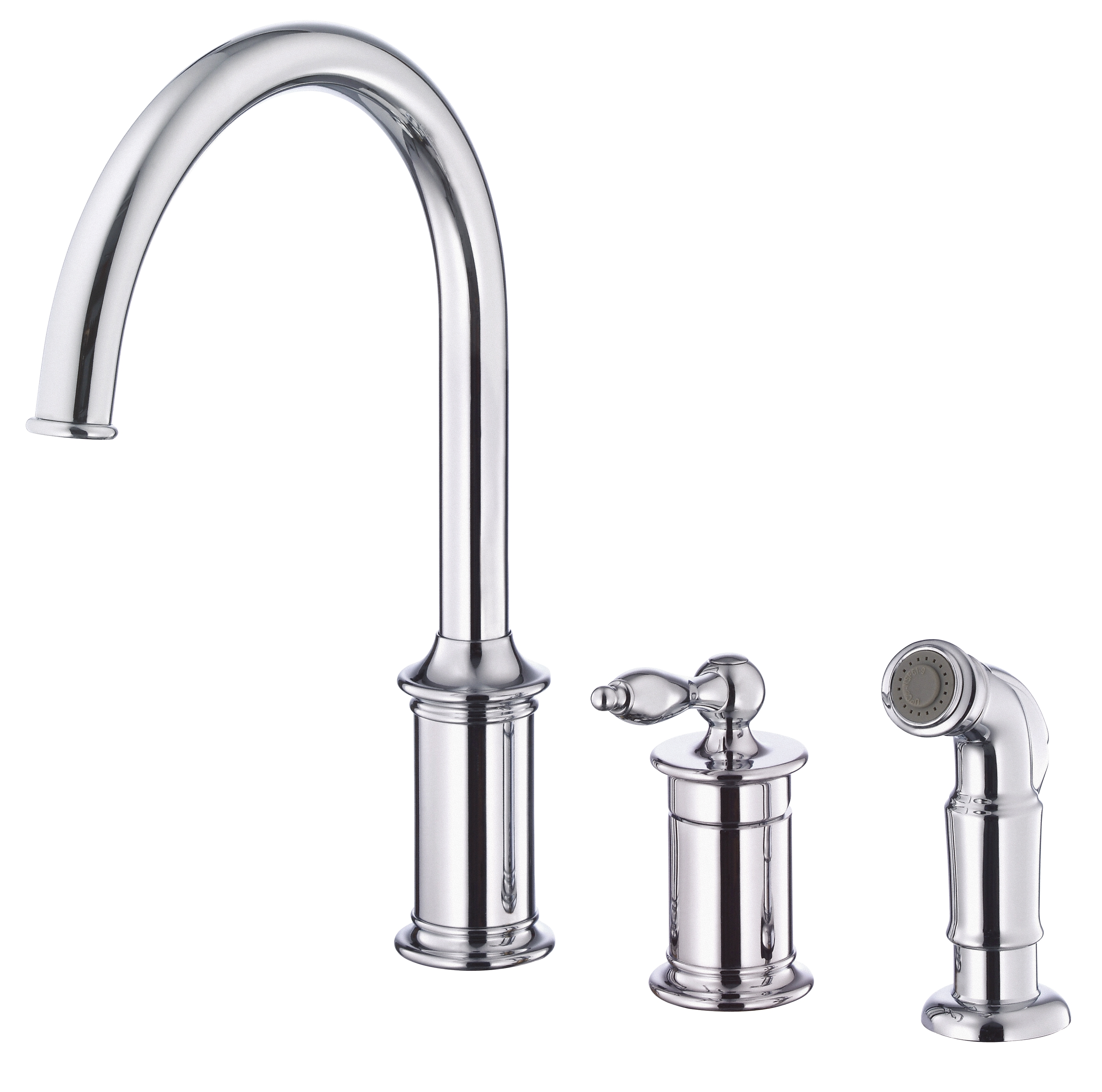 Ideas, faucet kitchen faucet white finish in dimensions 3307 x 3277  .