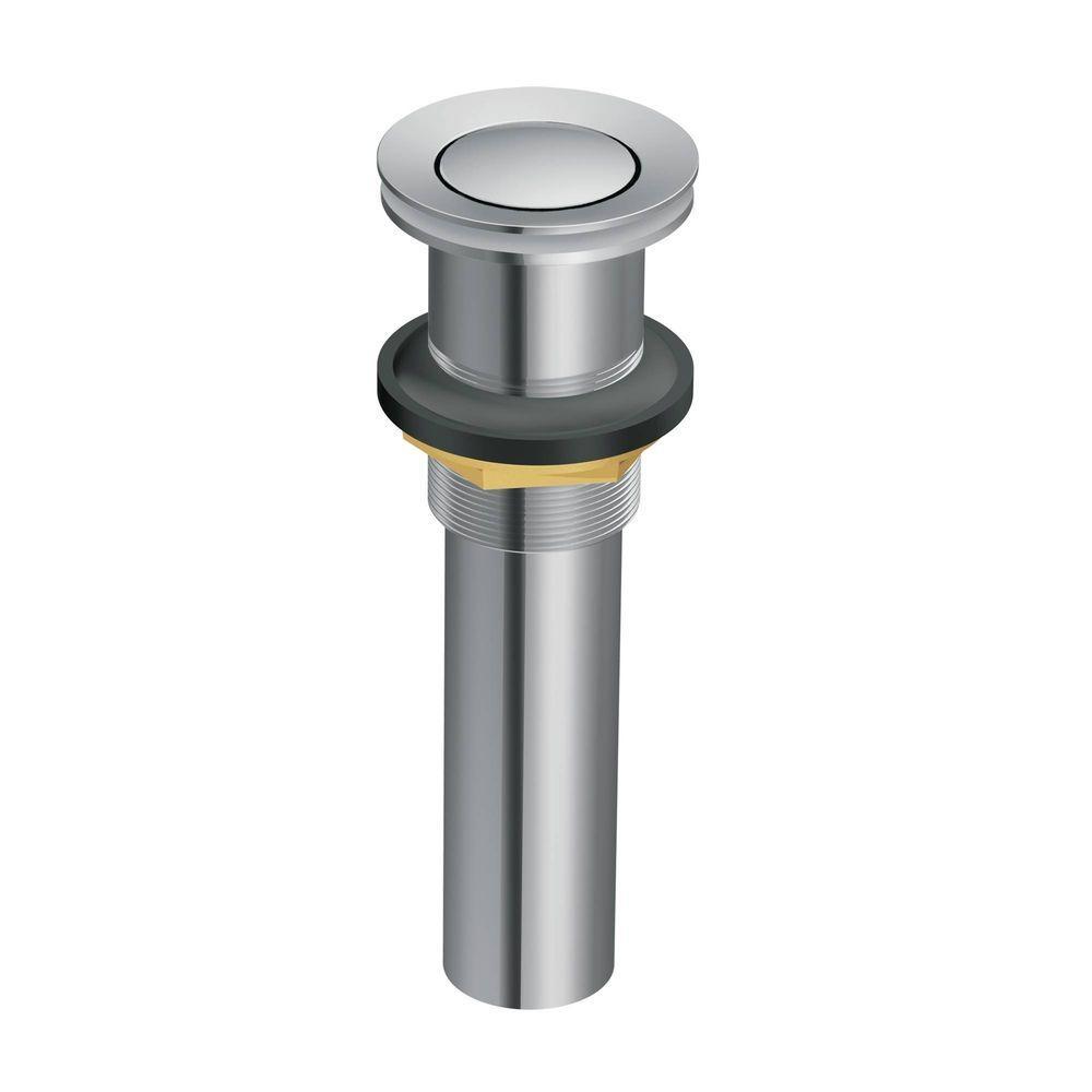 Ideas, faucet pop up drain faucet pop up drain moen lavatory pop up drain assembly without overflow in chrome 1000 x 1000  .
