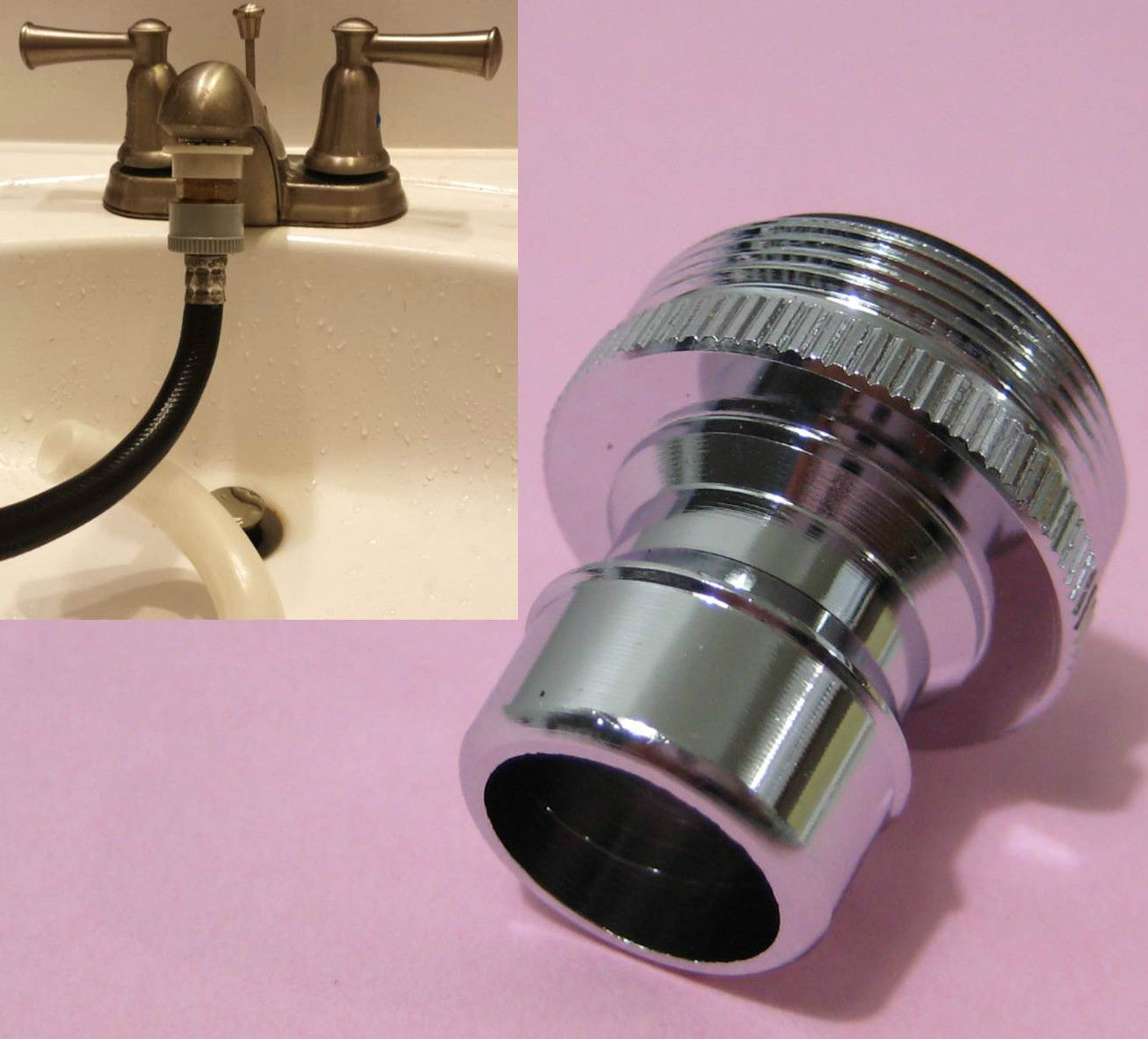 Quick Connect Faucet Adapter For Portable Washing Machine