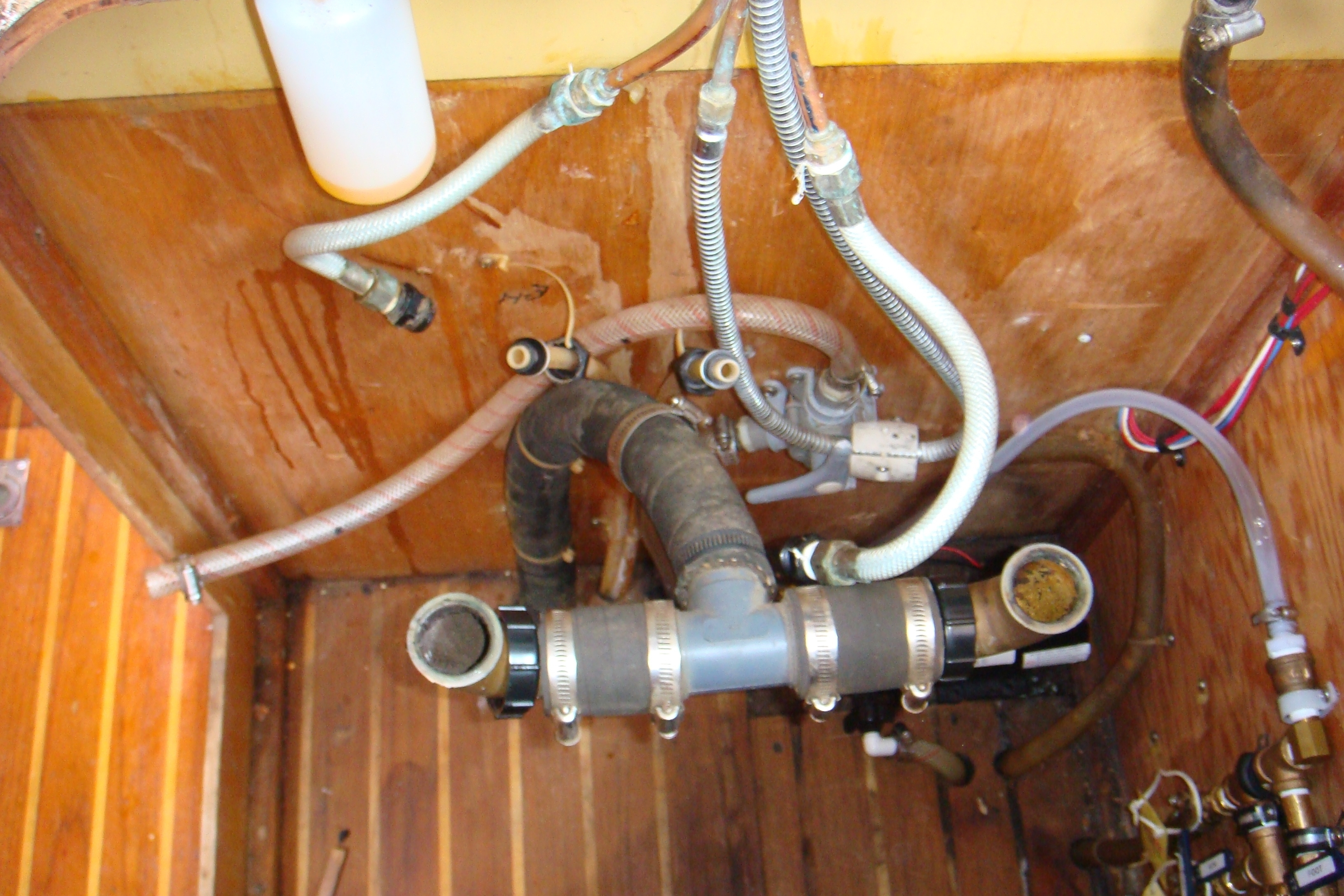 Ideas, faucet supply hose adapter faucet supply hose adapter faucets build an outdoor sink part two connecting the water 3264 x 2176  .
