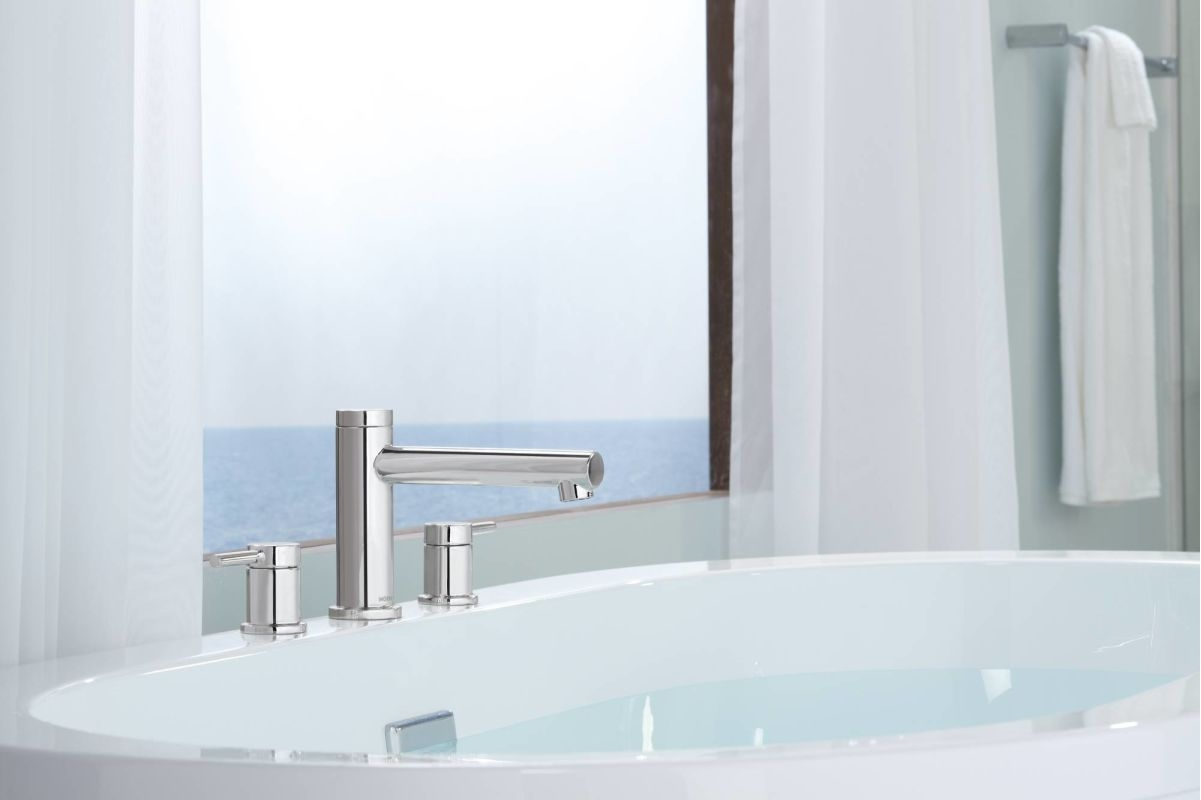 Ideas, faucet t393bn in brushed nickel moen for size 1201 x 800  .