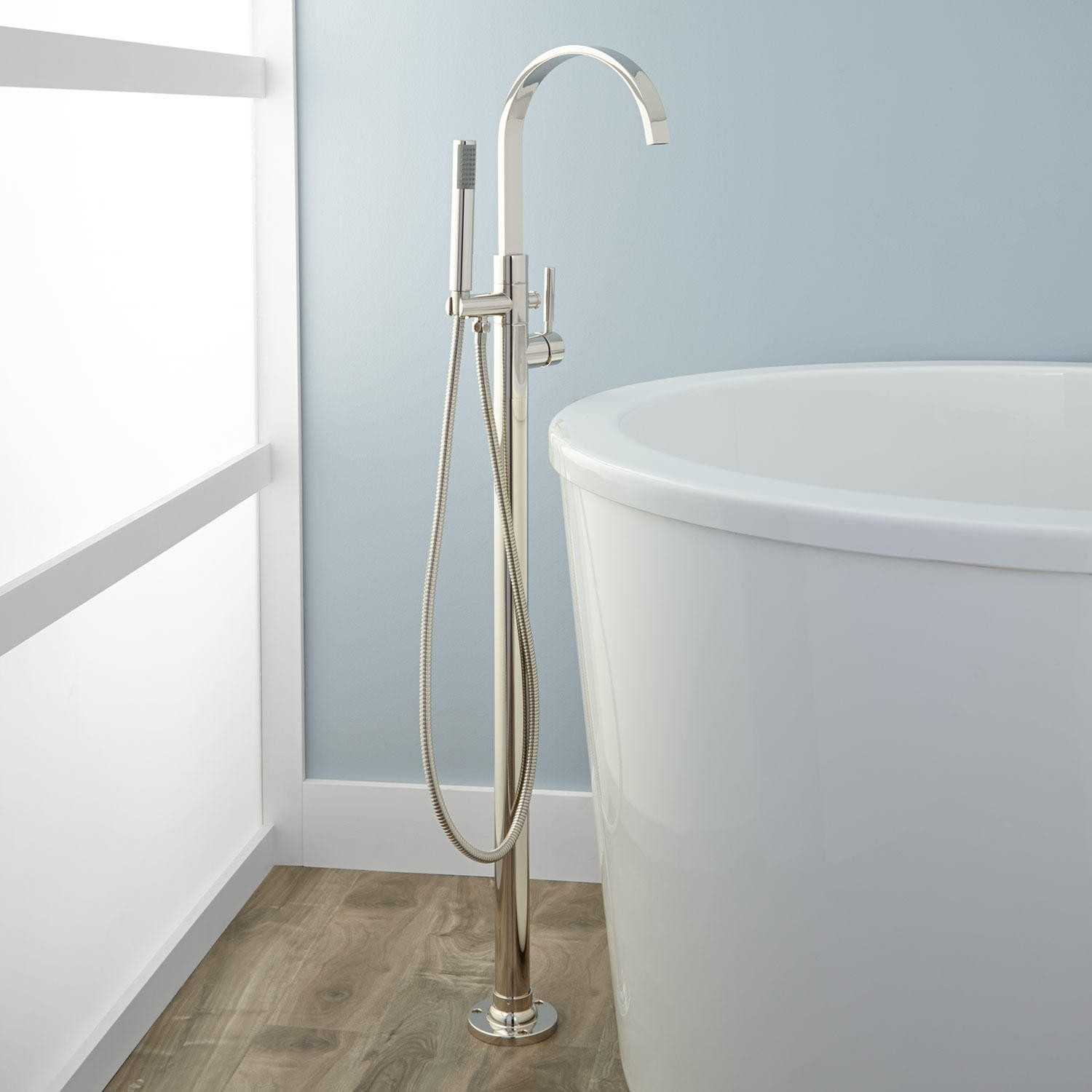 Ideas, floor mount freestanding tub fillers signature hardware within proportions 1500 x 1500  .