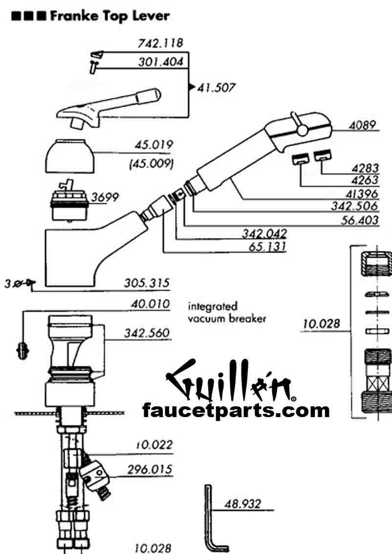 Ideas, franke triflow faucet cartridge franke triflow faucet cartridge franke faucet parts 802 x 1133  .