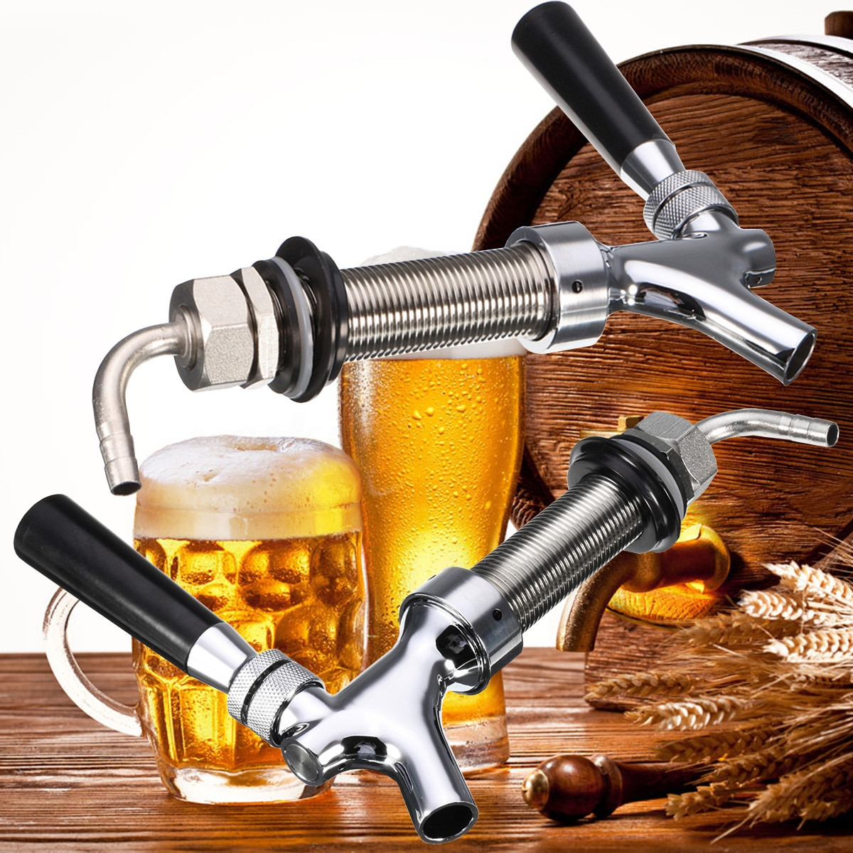 Ideas, g58 thread draft beer faucet with 925mm long shank combo kit tap for measurements 1200 x 1200  .