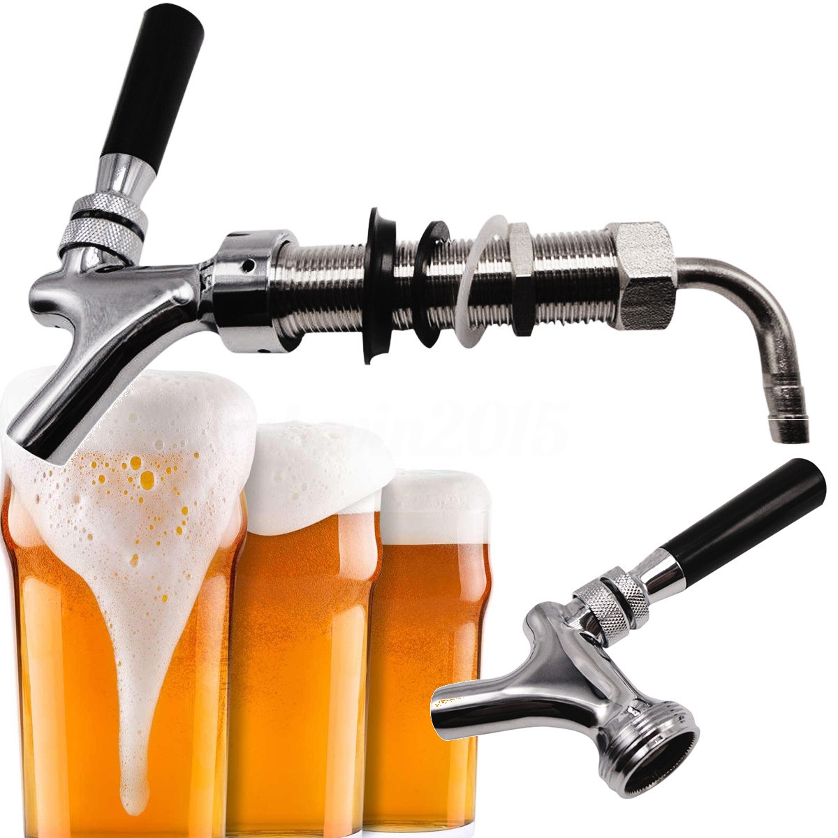 Ideas, g58 thread draft beer faucet with 925mm long shank combo kit tap in proportions 1200 x 1200  .