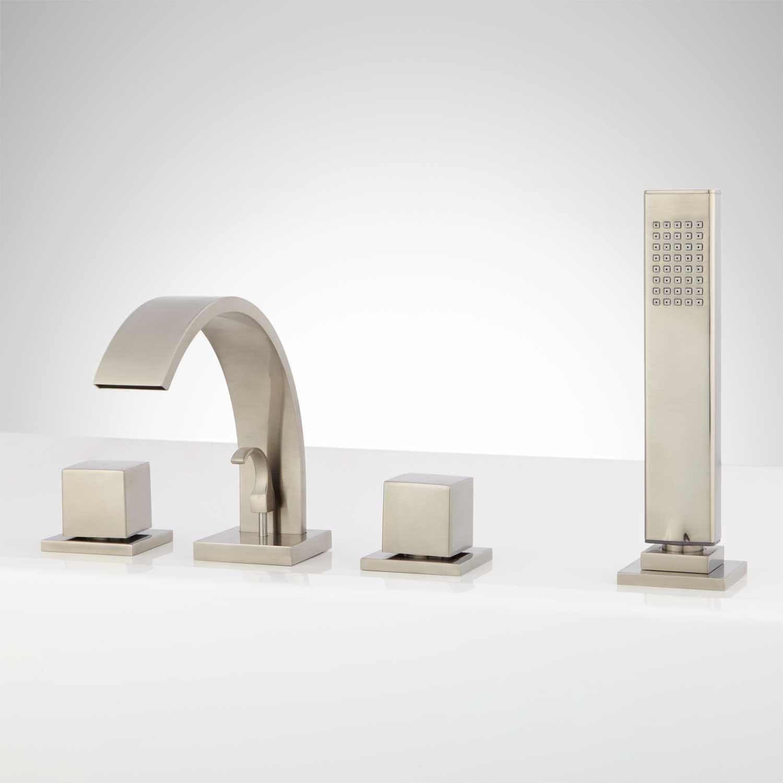 Ideas, garden tub faucets with sprayer garden tub faucets with sprayer roman tub faucets garden tub faucets signature hardware 1500 x 1500  .