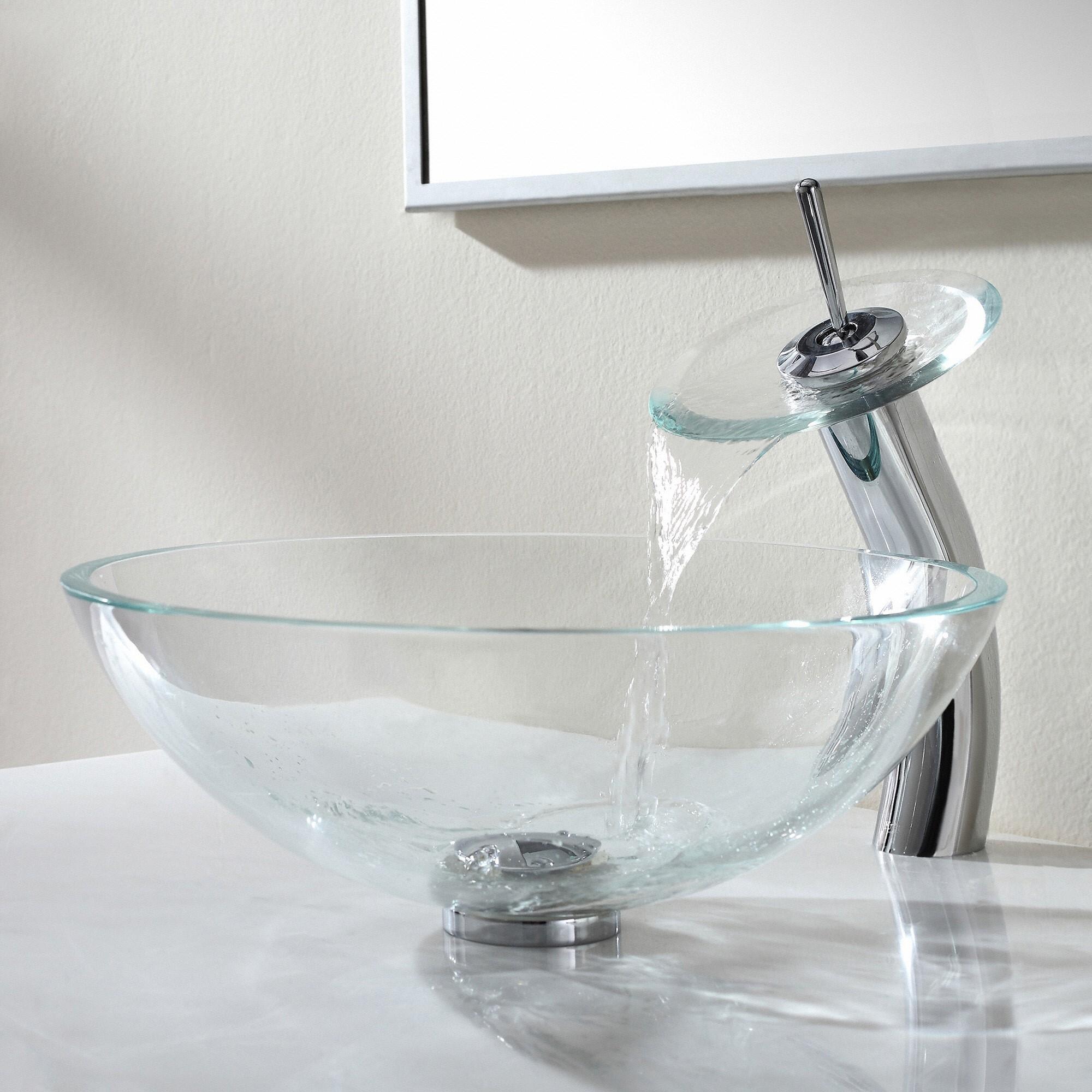 Ideas, glass bathroom faucet handles glass bathroom faucet handles bathroom waterfall faucet kraususa 2000 x 2000 2  .
