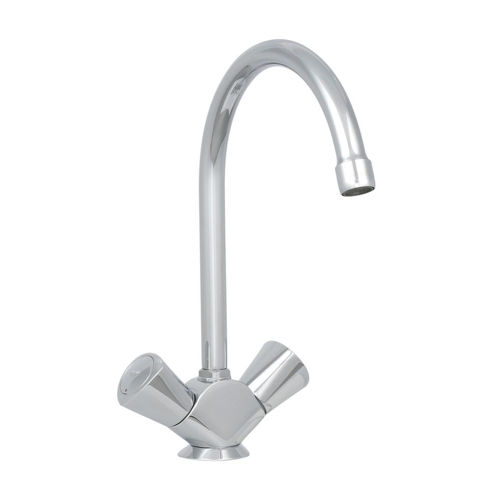 grohe 2 handle kitchen faucet in starlight chrome 31 074 001 the within dimensions 1000 x 1000