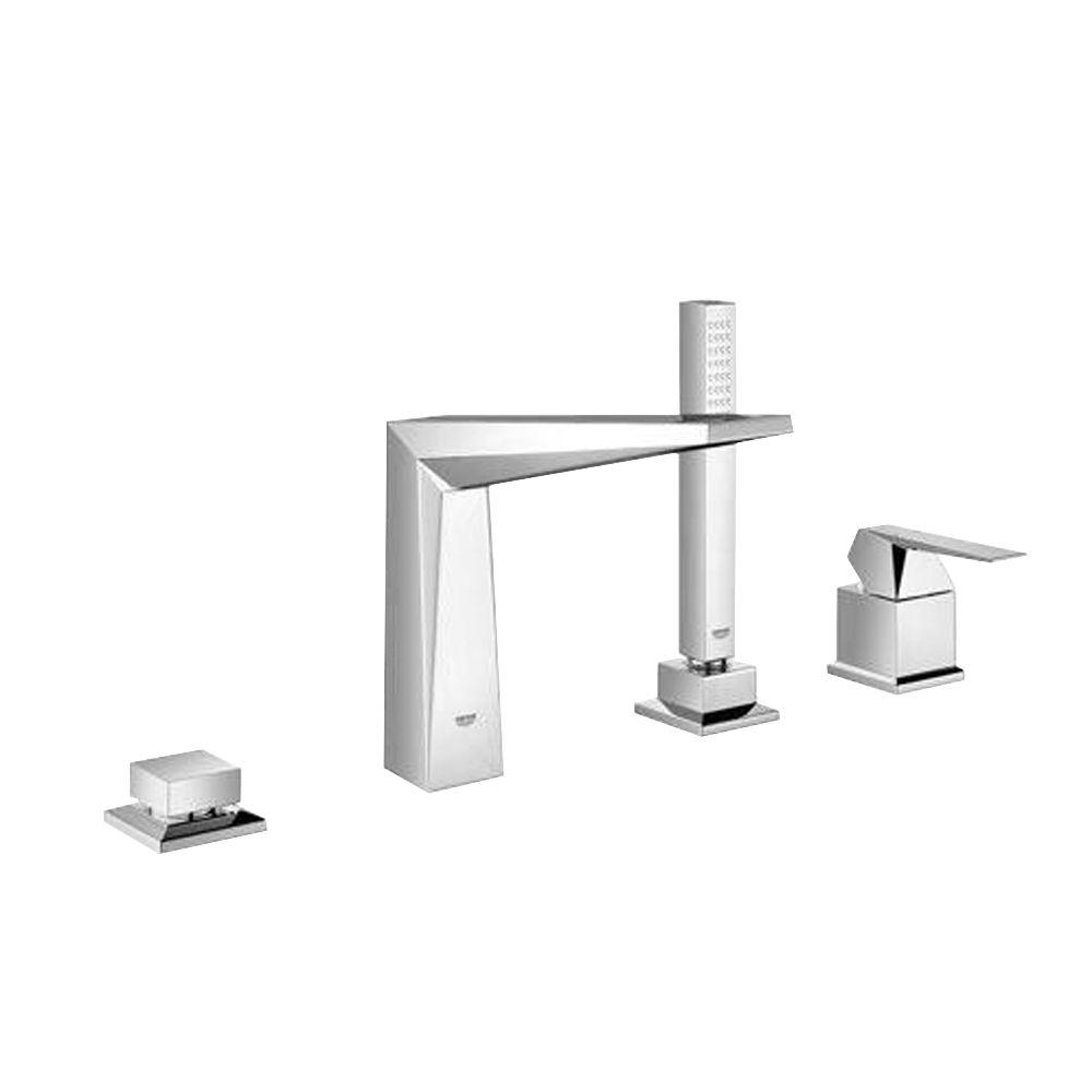 Ideas, grohe allure brilliant 7 1316 in 4 hole roman tub filler with with size 1000 x 1000  .