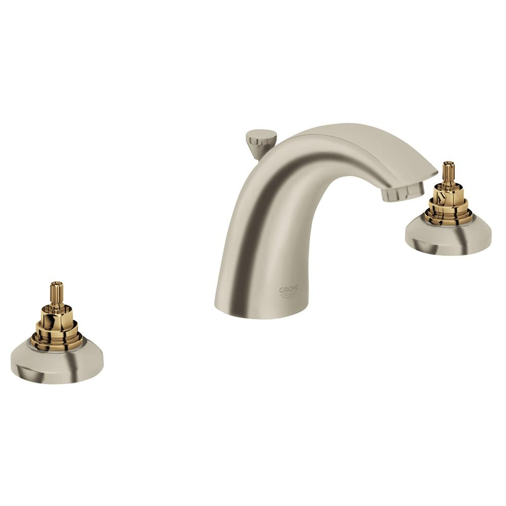 Ideas, grohe arden 8 in widespread 2 handle bathroom faucet in brushed inside sizing 1000 x 1000  .