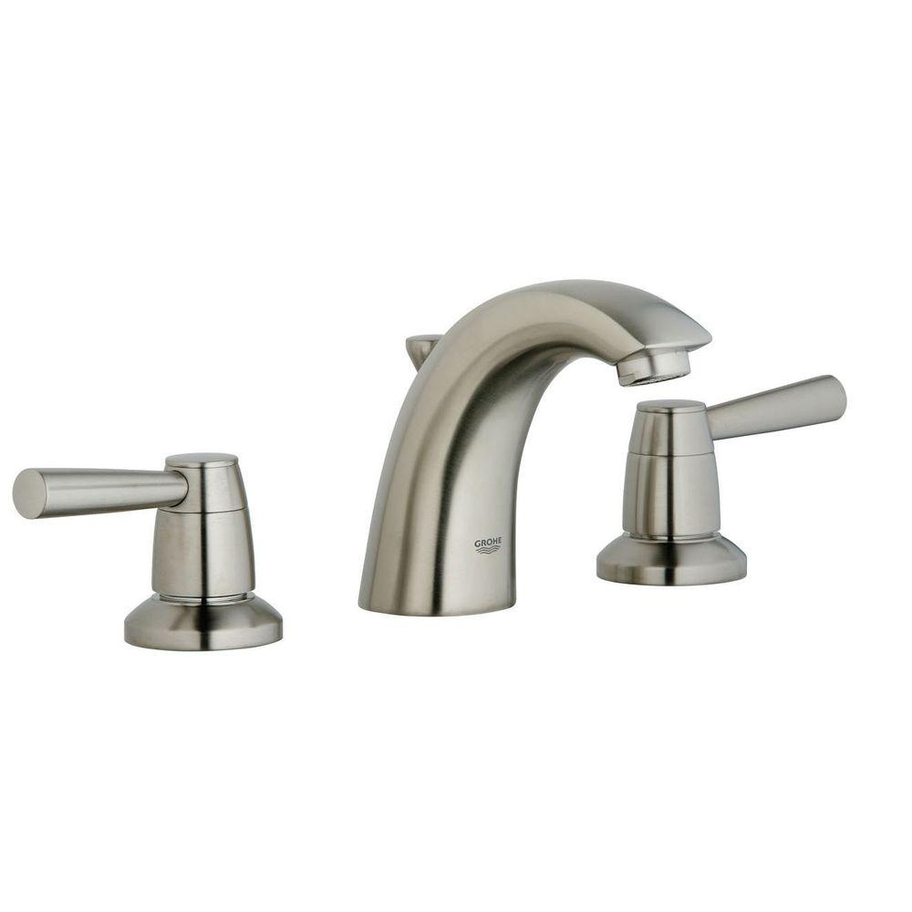 grohe arden 8 in widespread 2 handle low arc bathroom faucet in inside measurements 1000 x 1000