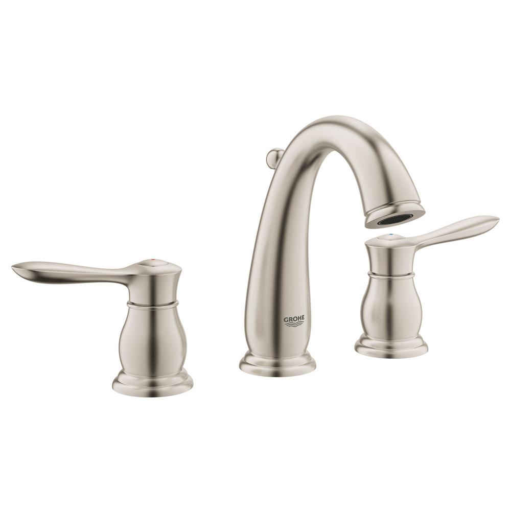 Ideas, grohe bathroom faucets brushed nickel grohe bathroom faucets brushed nickel grohe parkfield 8 in widespread 2 handle 12 gpm bathroom faucet 1000 x 1000  .