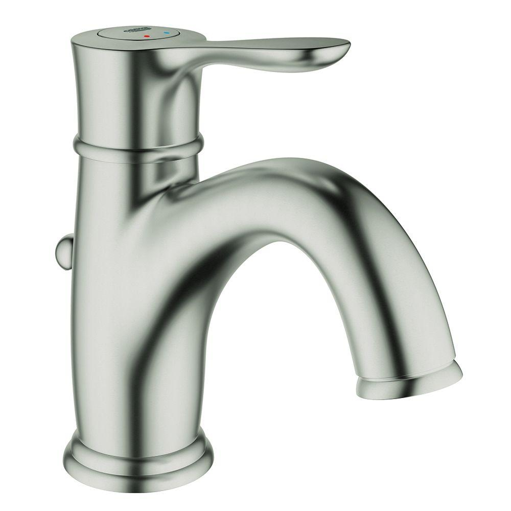 grohe bathroom faucets brushed nickel grohe bathroom faucets brushed nickel grohe parkfield single hole single handle bathroom faucet in 1000 x 1000