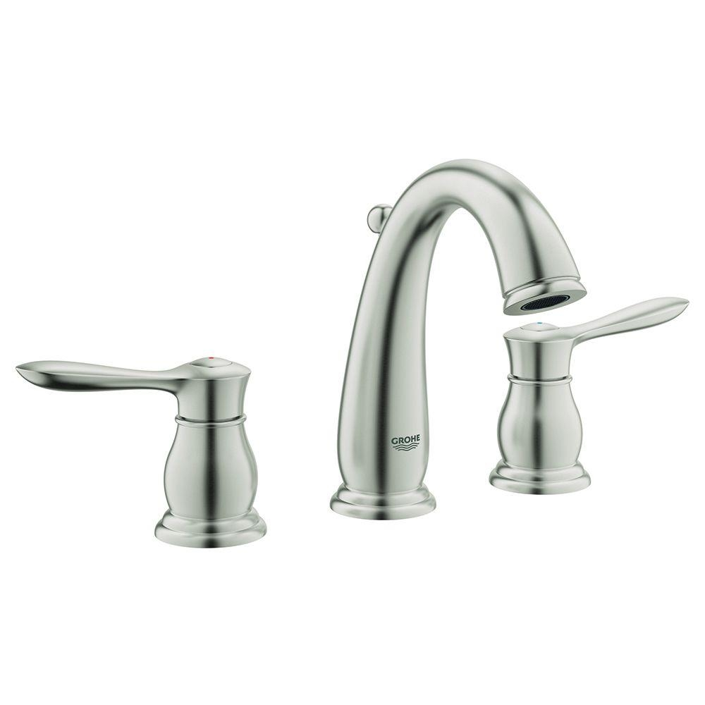 Ideas, grohe bathroom sink faucets brushed nickel grohe bathroom sink faucets brushed nickel grohe parkfield 8 in widespread 2 handle bathroom faucet in 1000 x 1000  .