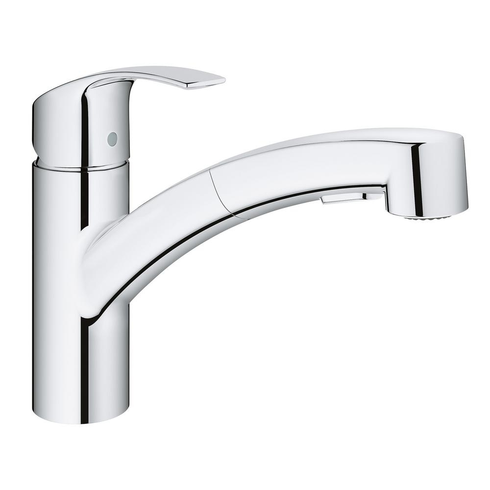 Ideas, grohe eurosmart kitchen faucet grohe eurosmart kitchen faucet grohe eurosmart single handle pull out sprayer kitchen faucet in 1000 x 1000  .