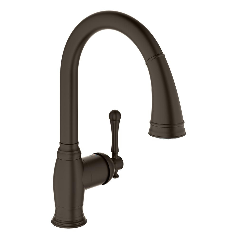 Ideas, grohe parkfield pull out kitchen faucet grohe parkfield pull out kitchen faucet grohe bridgeford single handle pull down sprayer kitchen faucet 1000 x 1000  .