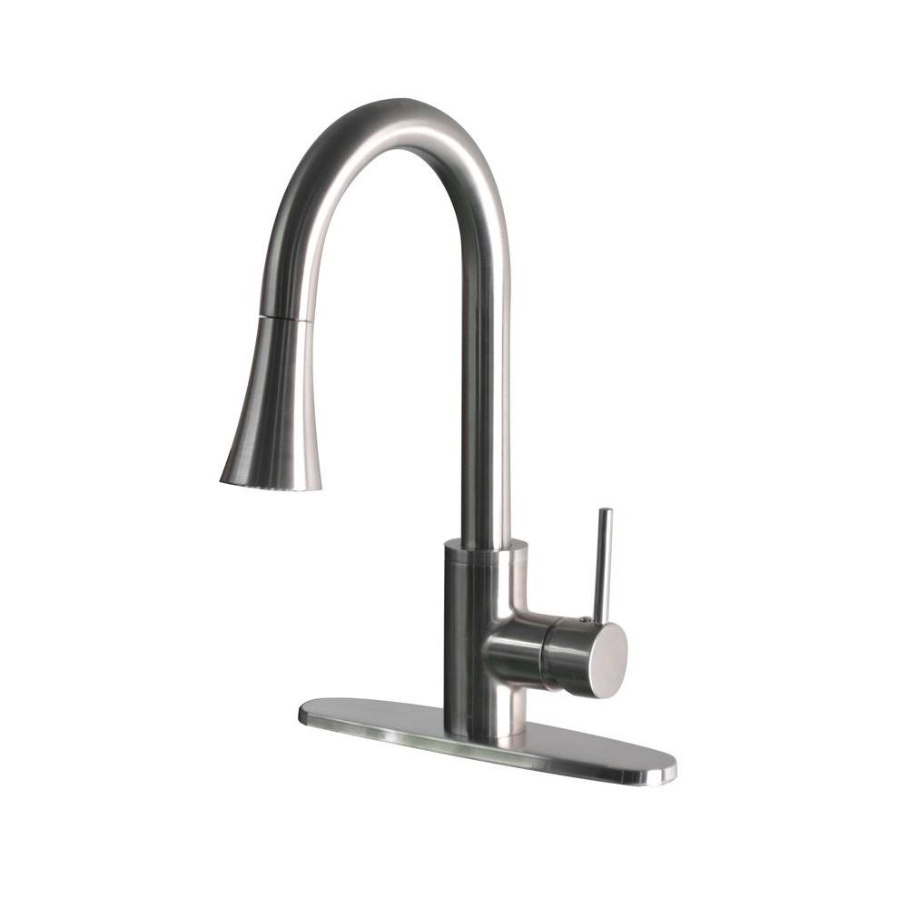Ideas, hanover single handle pull down sprayer kitchen faucet in inside sizing 1000 x 1000  .
