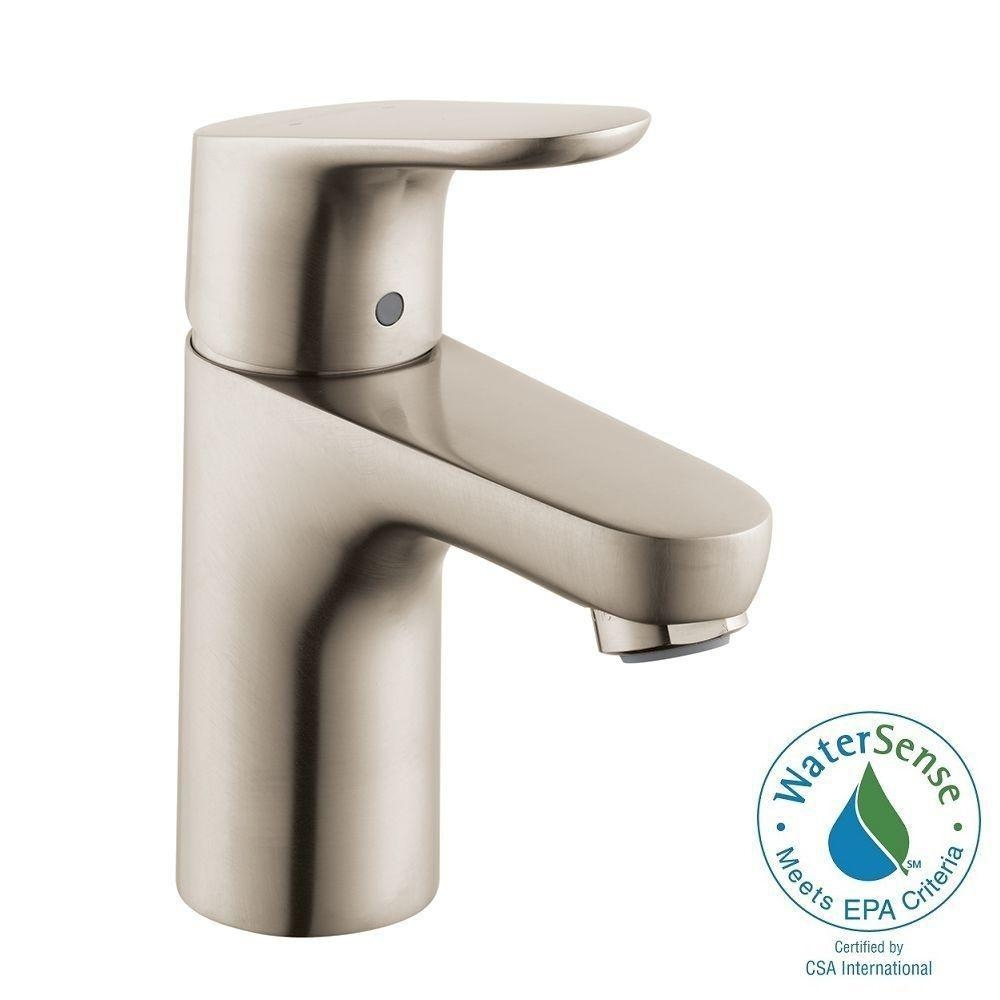 Ideas, hansgrohe focus 100 single hole 1 handle bathroom faucet in in sizing 1000 x 1000  .