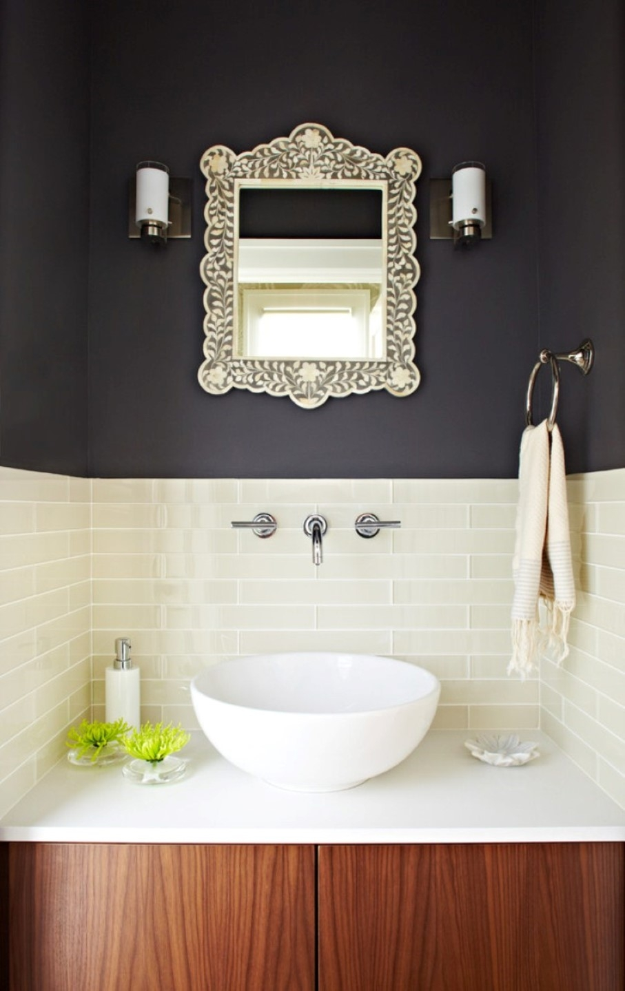 inspiring wall mount faucets in comely bathrooms designoursign regarding size 907 x 1439