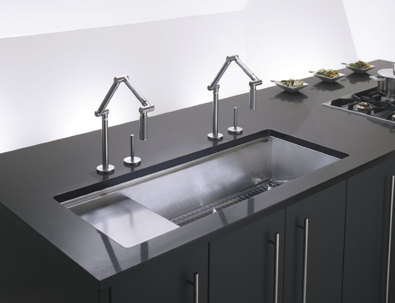 Ideas, karbon articulating kitchen faucet karbon articulating kitchen faucet horrible images latest picture of articulated kitchen faucet 1300 x 1000  .
