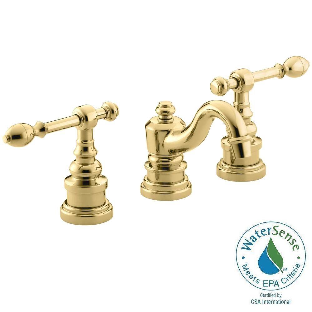 Ideas, kingston brass manhattan 8 in widespread 2 handle high arc regarding dimensions 1000 x 1000  .