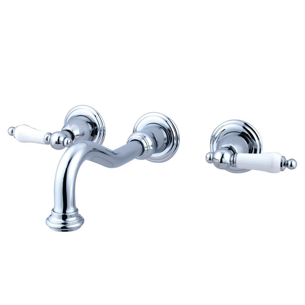 Ideas, kingston brass porcelain 2 handle vessel wall mount bathroom inside dimensions 1000 x 1000  .