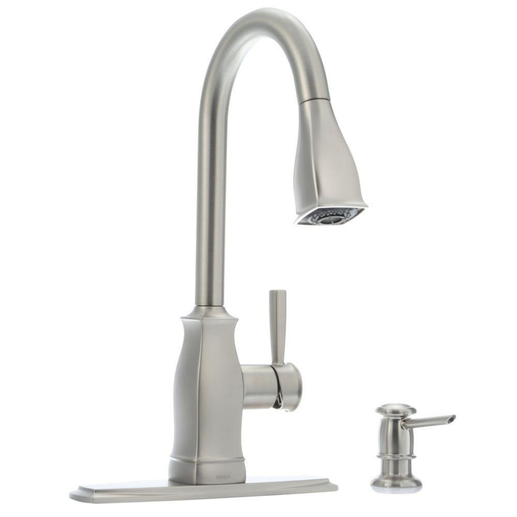Ideas, kitchen black kitchen faucet with sprayer brushed nickel in proportions 1024 x 1024  .