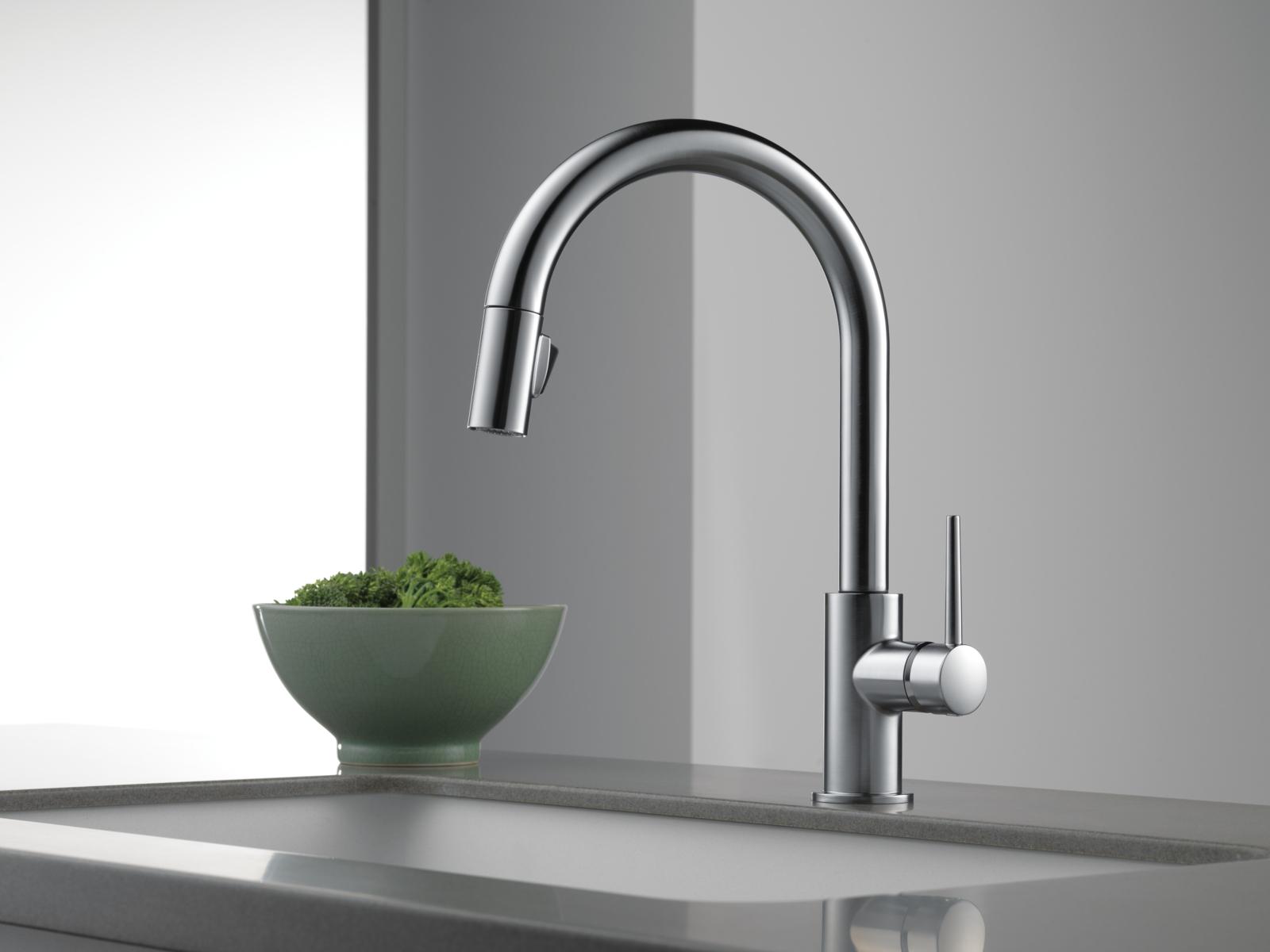 Ideas, kitchen delta touch faucet touchless 2017 with motion sensor for measurements 1600 x 1200  .