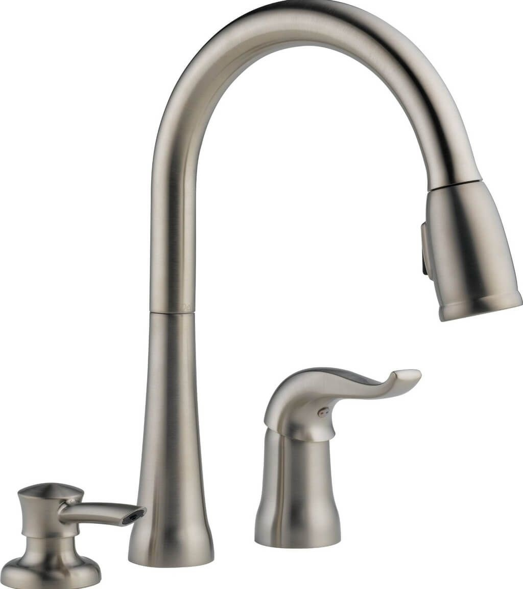 Ideas, kitchen design 3 holes kitchen faucets with soap dispenser and within measurements 1024 x 1152  .