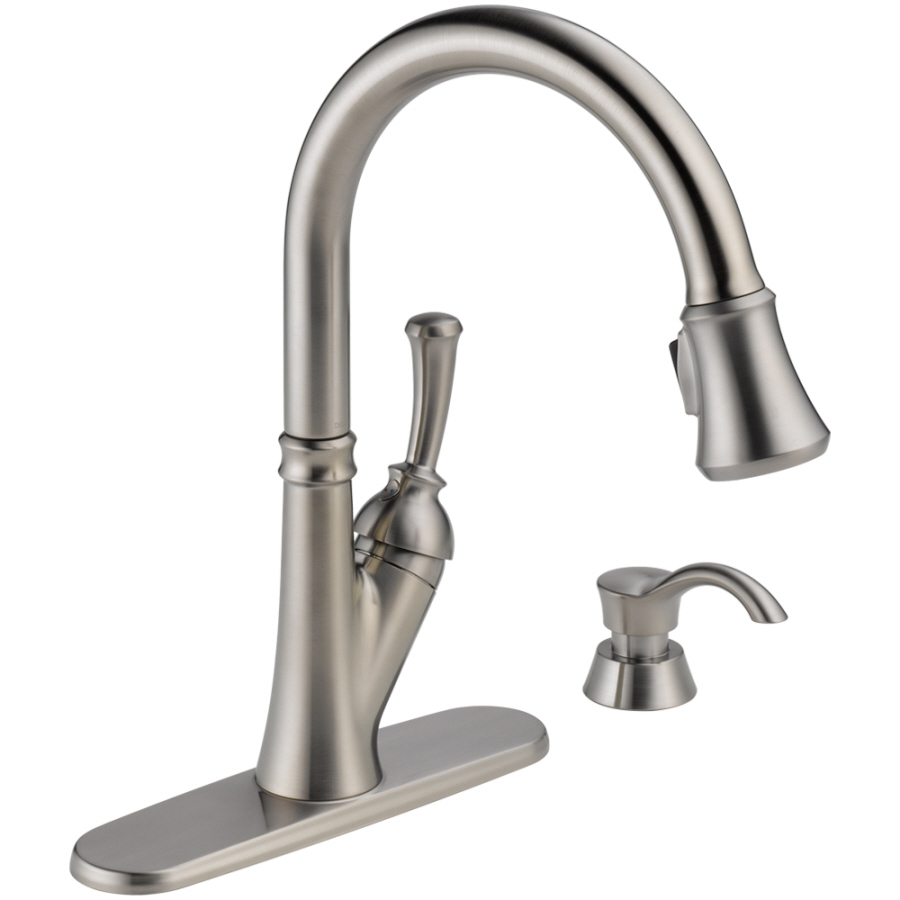 kitchen exciting delta kitchen sink faucets for modern kitchen inside measurements 900 x 900