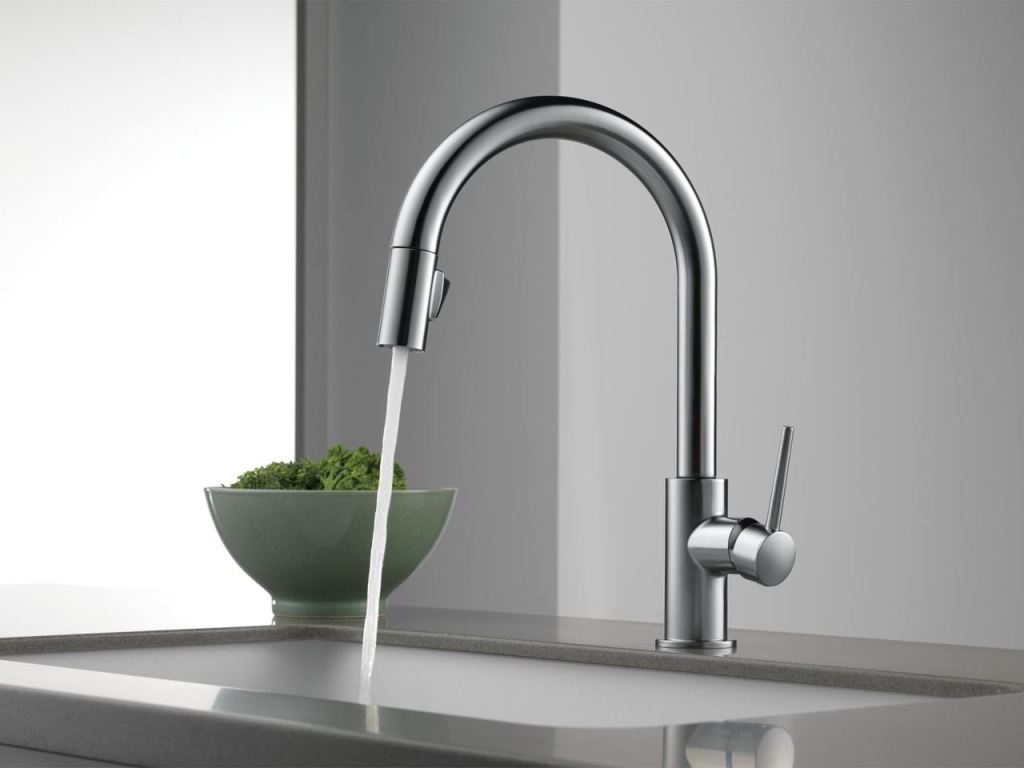 Ideas, kitchen faucet creative delta touch kitchen faucet pertaining to proportions 1024 x 768  .