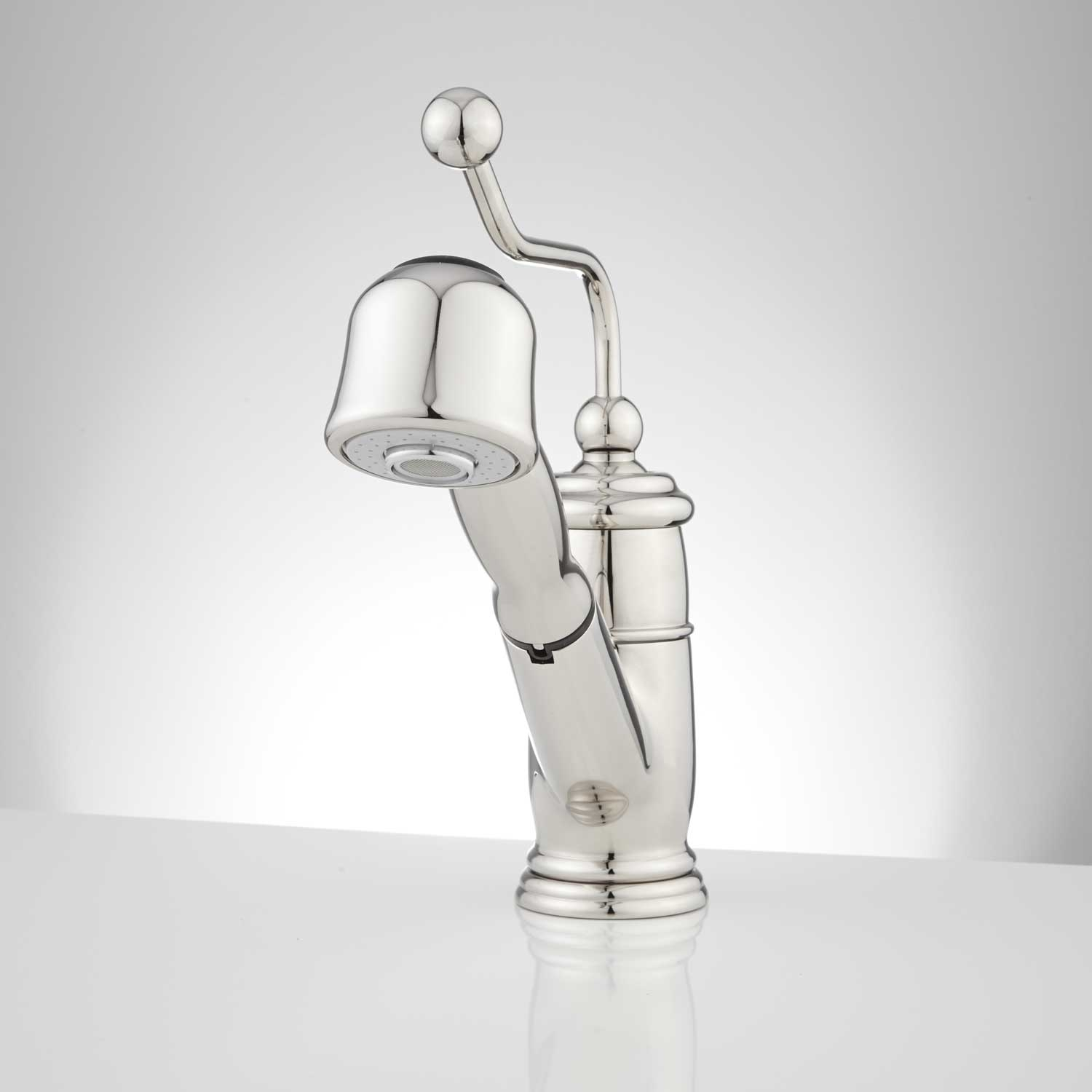 Ideas, kitchen faucet that looks like a water pump kitchen faucet that looks like a water pump contemporary spray kitchen faucet signature hardware 1500 x 1500  .