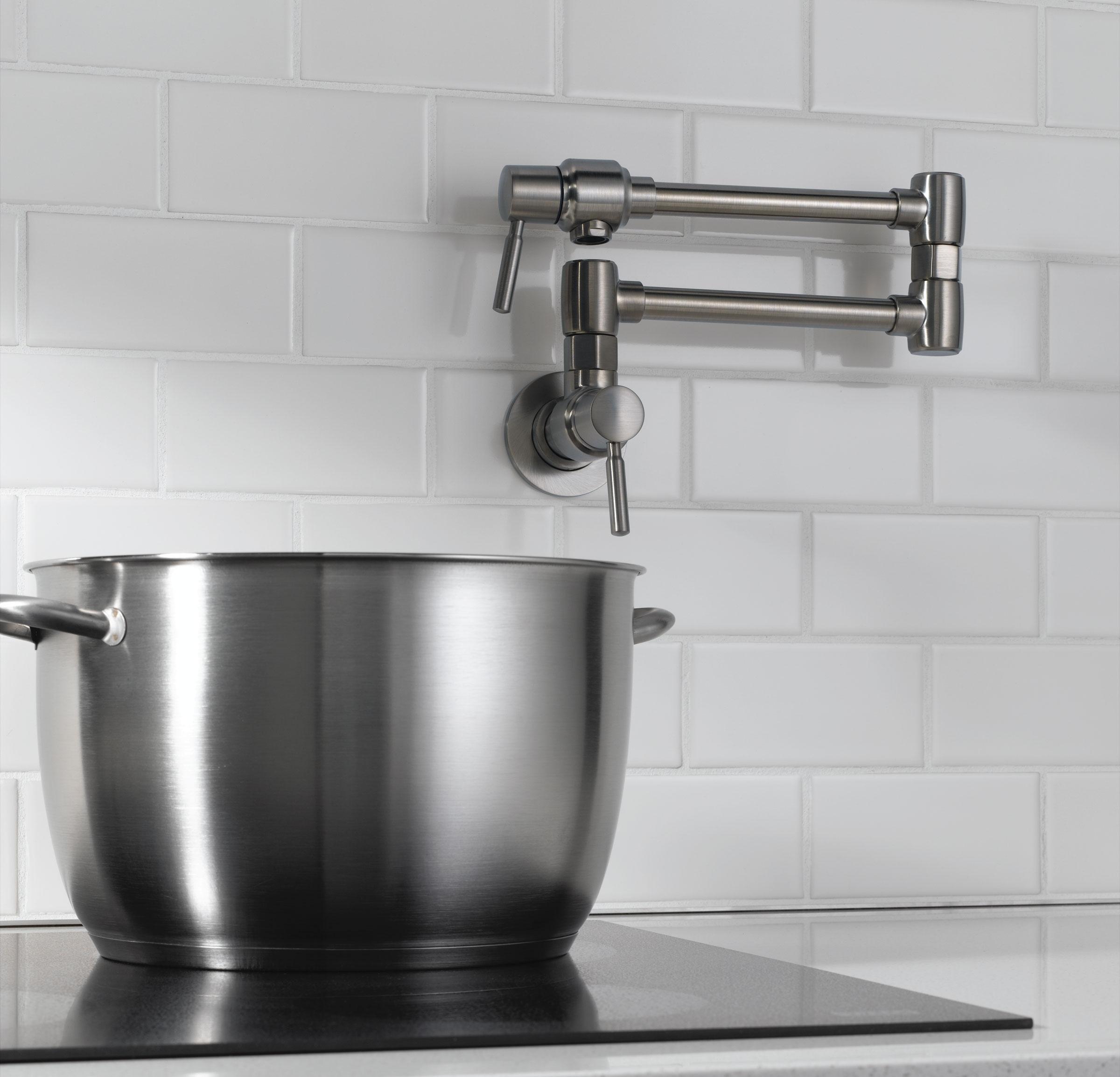 Ideas, kitchen pot filler faucet pot filler height pot faucet in sizing 2400 x 2309  .