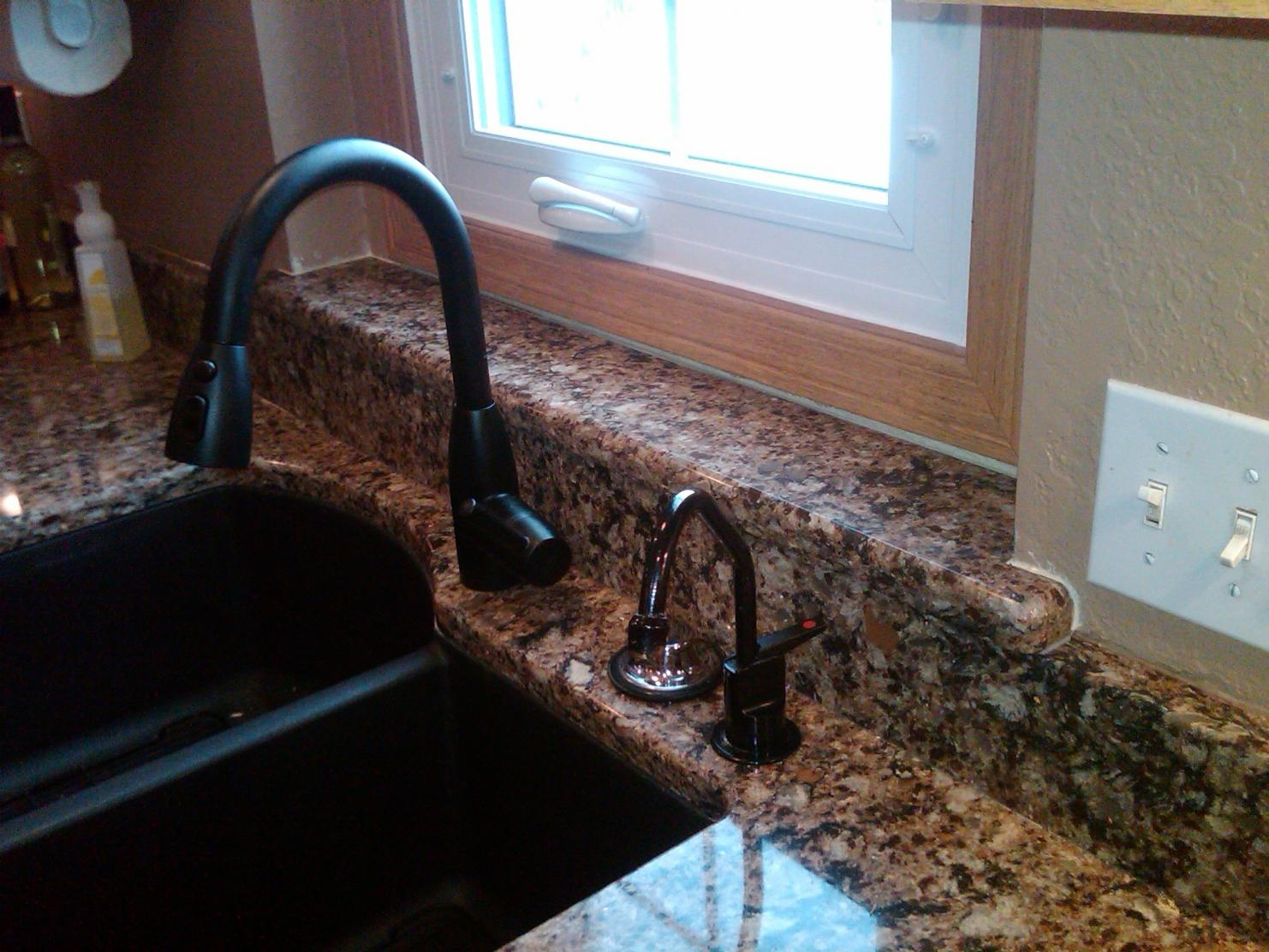 Ideas, kitchen sink faucets for granite countertops kitchen sink faucets for granite countertops faucet on granite countertops kitchens baths contractor talk 1482 x 1112  .