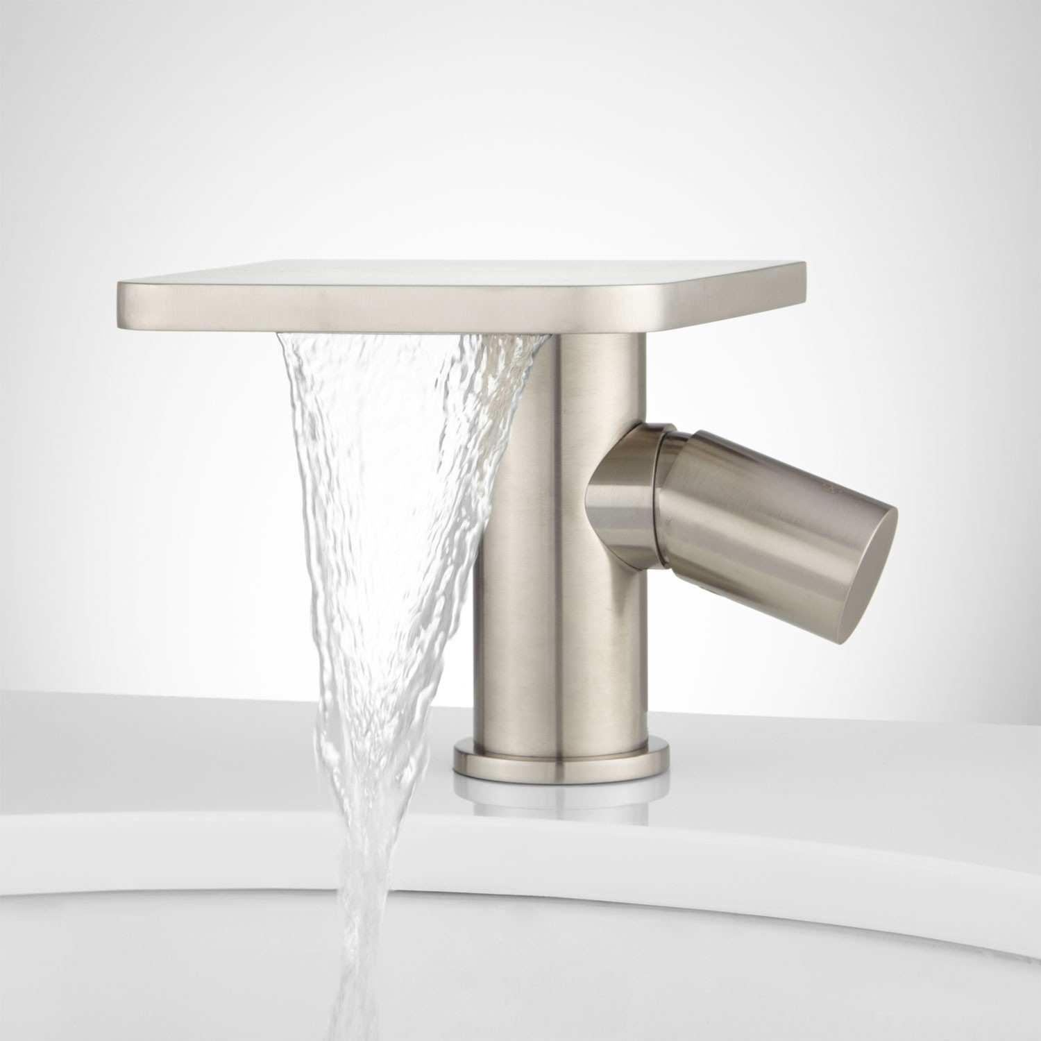 knox single hole waterfall bathroom faucet with pop up drain pertaining to proportions 1500 x 1500