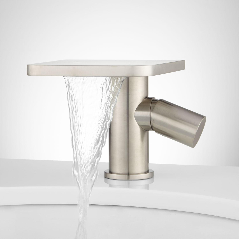 Ideas, knox single hole waterfall bathroom faucet with pop up drain regarding dimensions 1500 x 1500  .