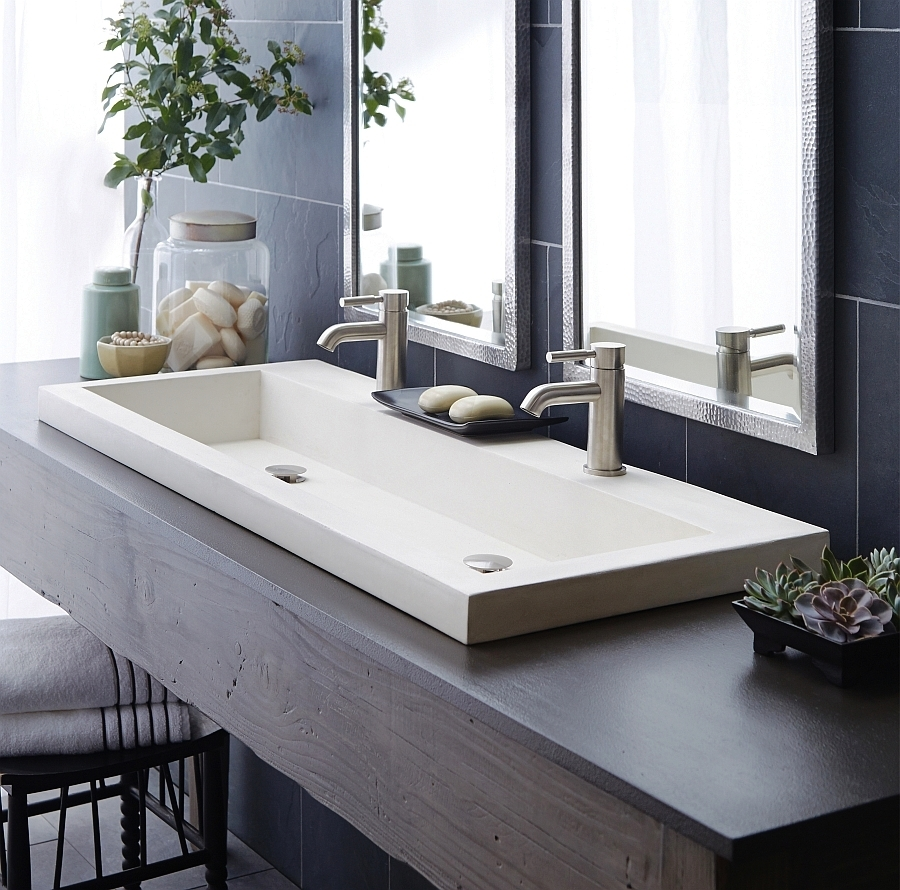 Ideas, kohler double faucet trough sink kohler double faucet trough sink ideas design for double trough sink 6554 900 x 890  .