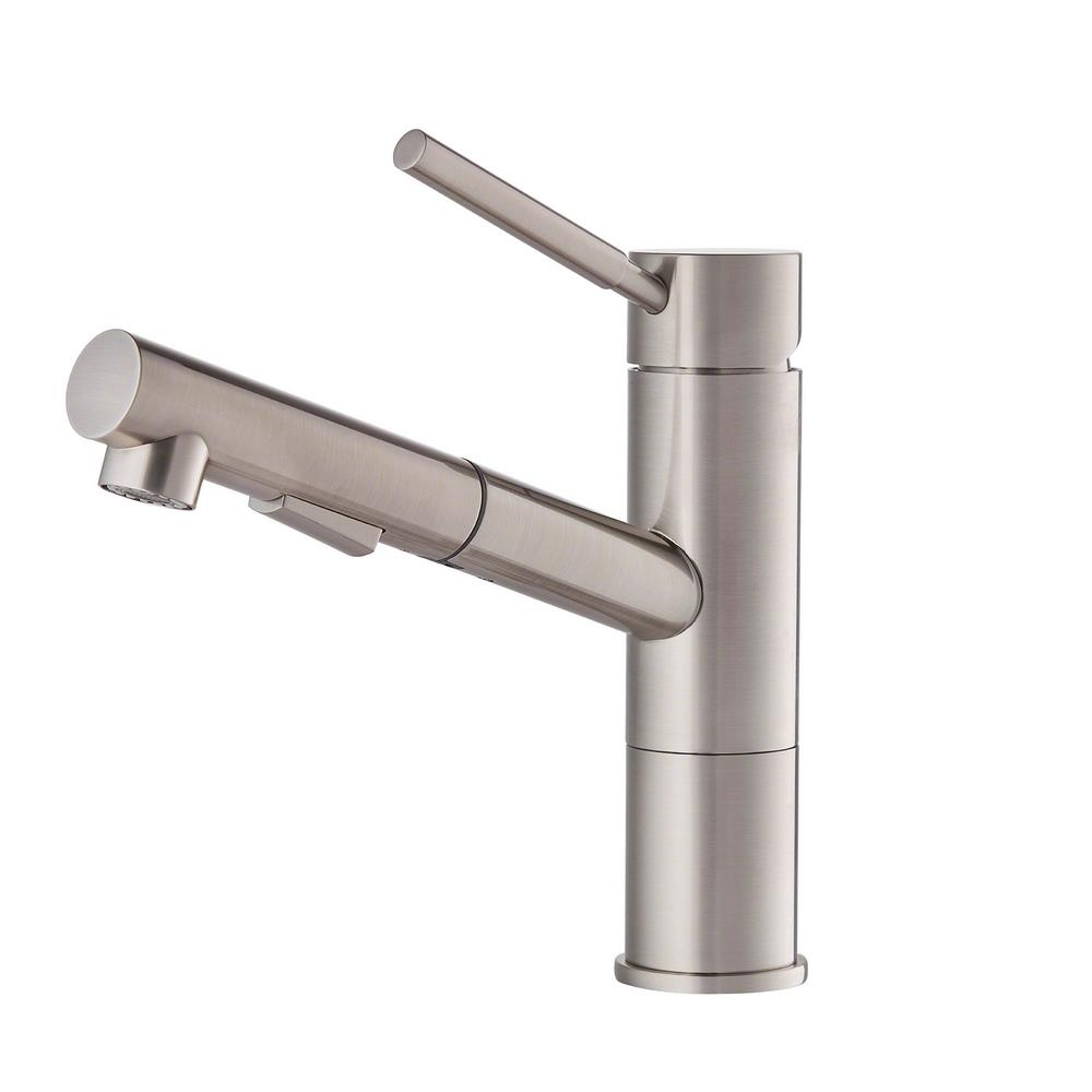 Ideas, kraus geo axis single handle pull out sprayer kitchen faucet in in sizing 1000 x 1000  .