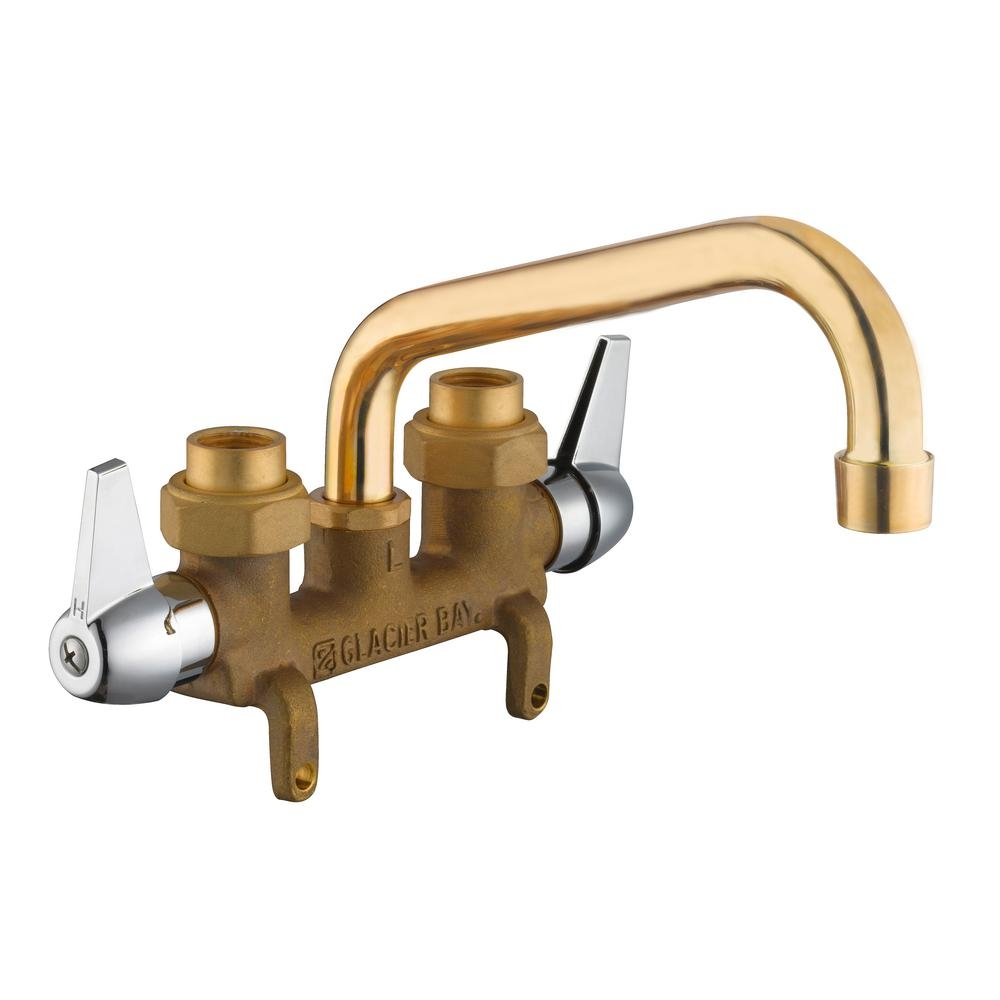 Ideas, laundry faucet with hose connection laundry faucet with hose connection glacier bay 2 handle laundry faucet in rough brass 4211n 0001 1000 x 1000  .