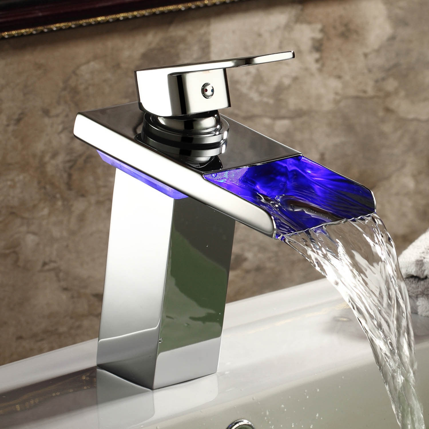 led waterfall faucets for vessel sinks led waterfall faucets for vessel sinks led faucet product categories kokols inc 1500 x 1500