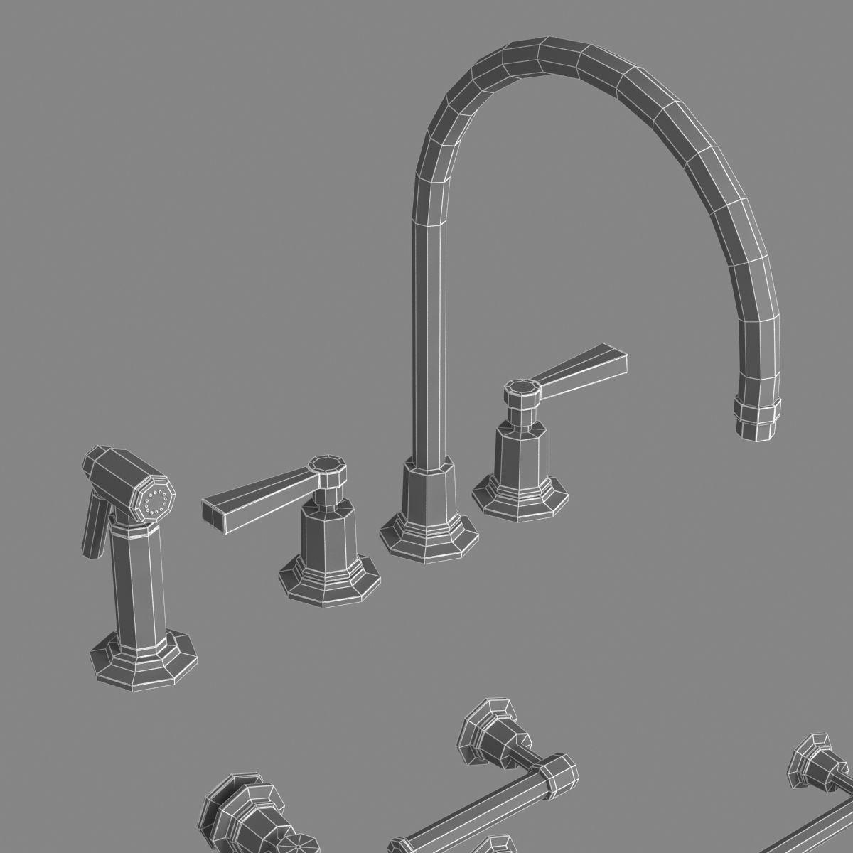 Ideas, lefroy brooks kitchen faucets lefroy brooks kitchen faucets lefroy brooks bath furniture set 3d model max obj 3ds fbx mtl 1200 x 1200  .