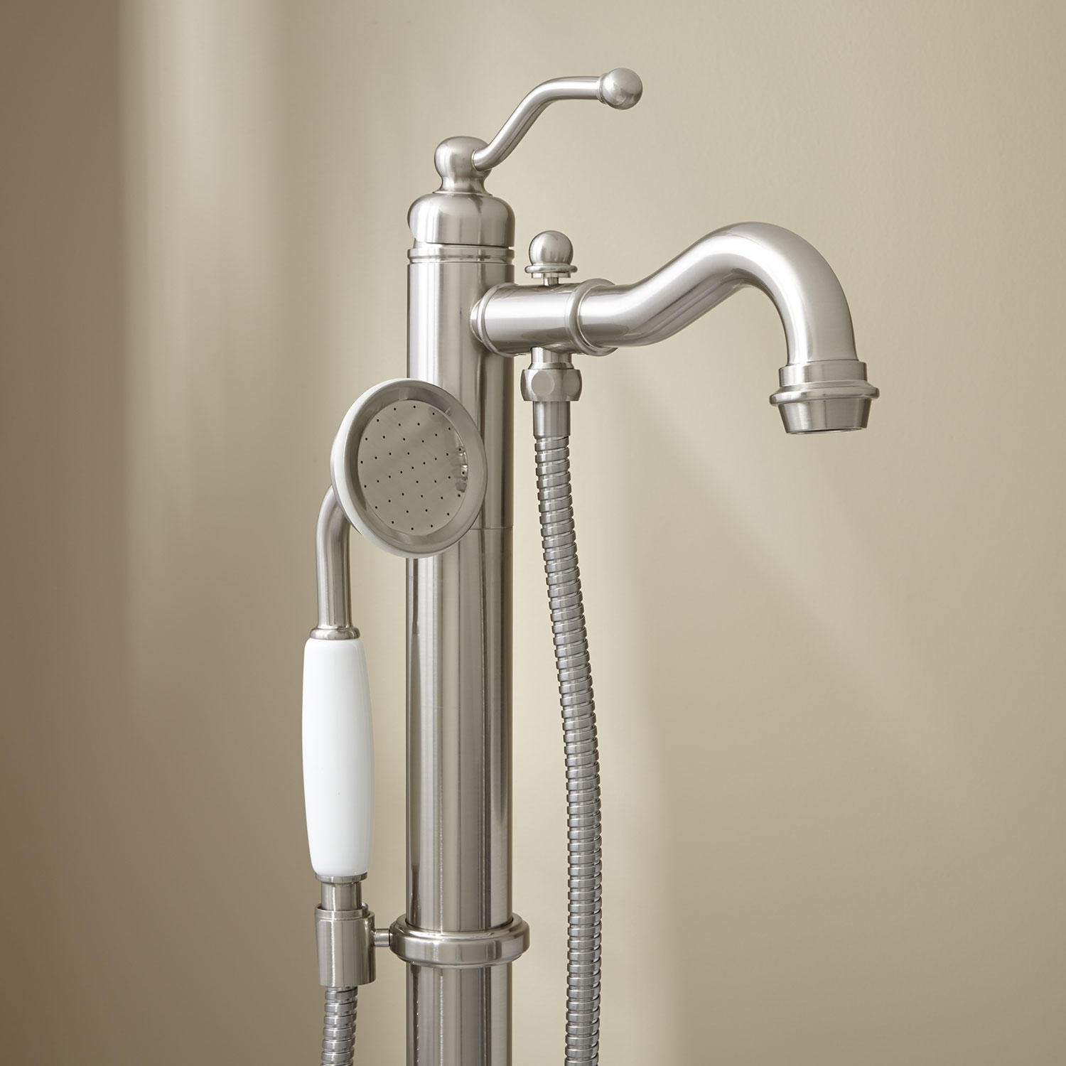 Ideas, leta freestanding tub faucet with hand shower bathroom for size 1500 x 1500  .