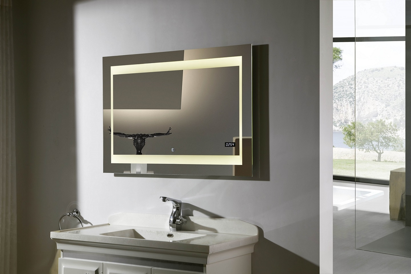 Ideas, lighted bathroom mirror for your bathroom best performance throughout dimensions 1439 x 960  .