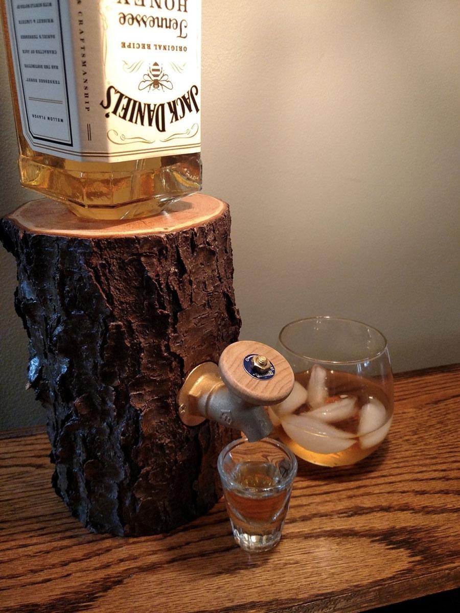 Ideas, liquor log booze dispenser dudeiwantthat pertaining to measurements 900 x 1200  .