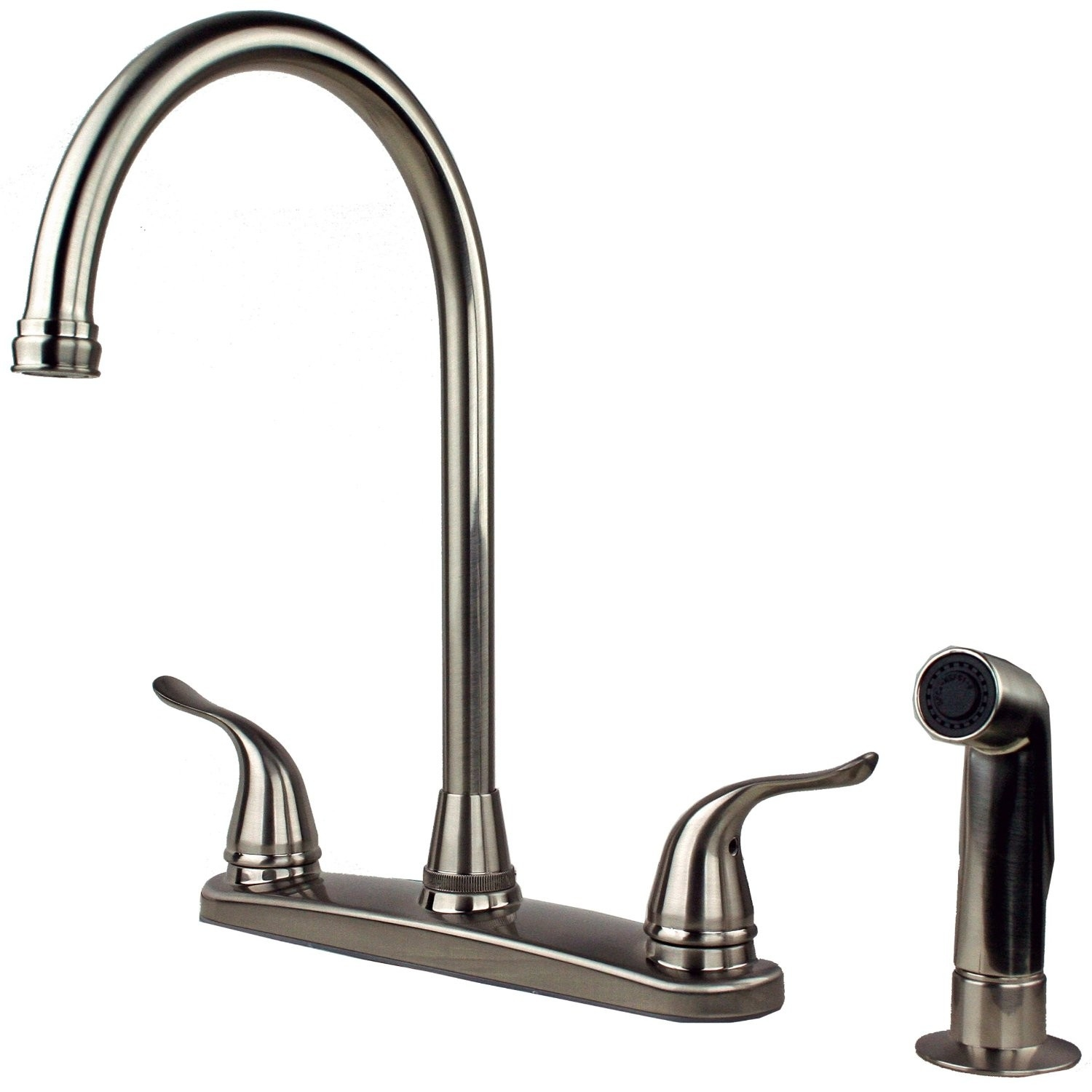 Ideas, long neck kitchen sink faucet long neck kitchen sink faucet sink faucet design bennington 112105 ss 2 handle high arc kitchen 1500 x 1500  .