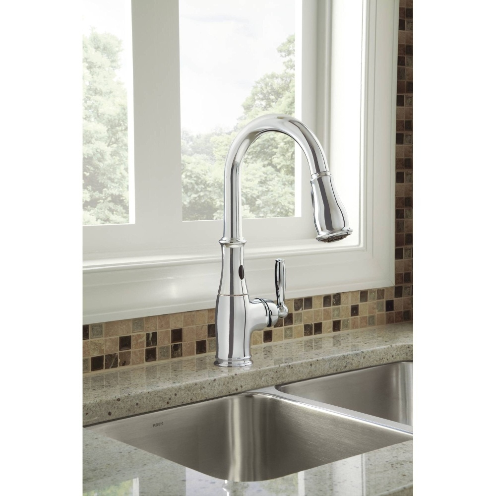 Ideas, moen 7185esrs brantford spot resist stainless pullout spray for measurements 1000 x 1000  .