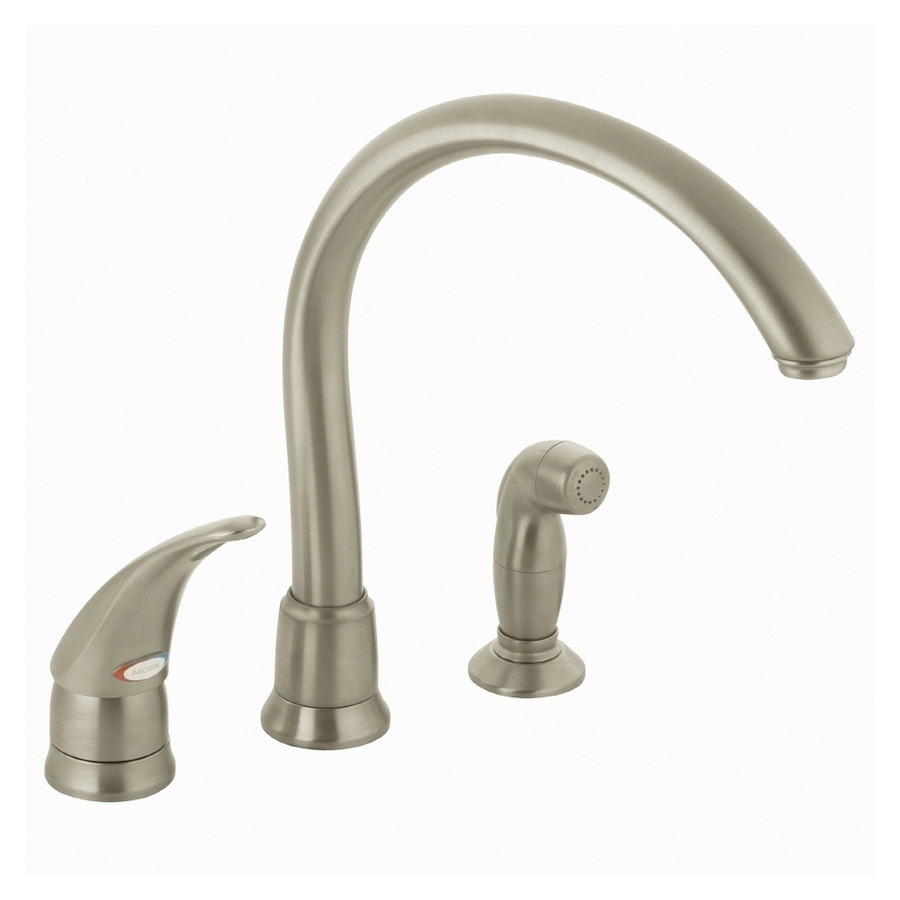 Ideas, moen 7730 monticello single handle kitchen faucet with side spray within dimensions 900 x 900  .