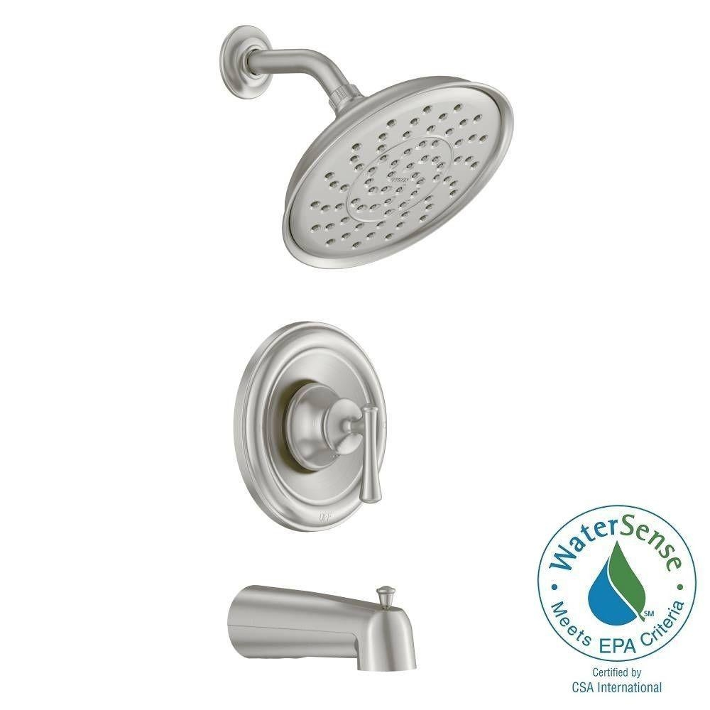 Ideas, moen adler shower faucet brushed nickel moen adler shower faucet brushed nickel brushed nickel 3 handle shower faucet barclay city brushed nickel 1000 x 1000  .