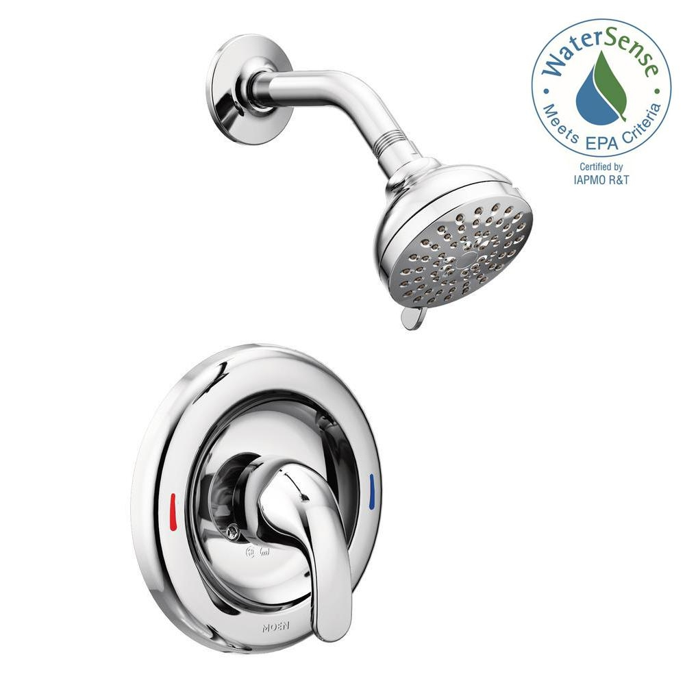 Ideas, moen adler shower faucet brushed nickel moen adler shower faucet brushed nickel moen adler 1 handle 1 spray shower faucet with valve in chrome 1000 x 1000  .