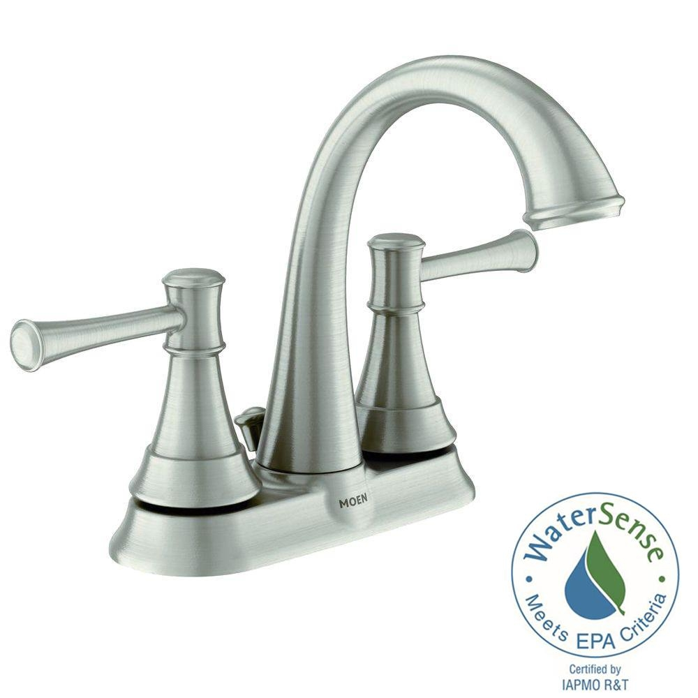 Ideas, moen ashville 4 in centerset 2 handle bathroom faucet with regarding measurements 1000 x 1000  .